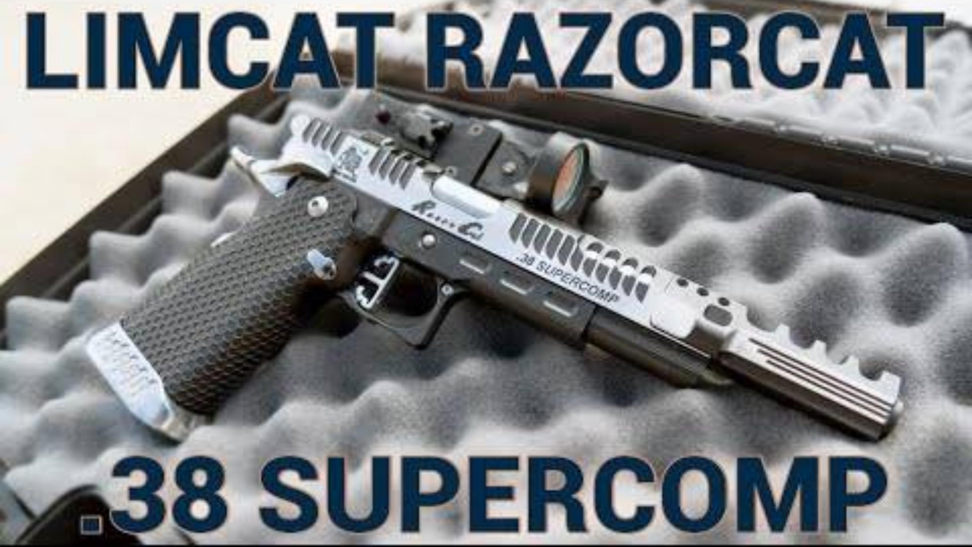 """[GUNSCOM]LimCat """"RazorCat"""".38手枪"""