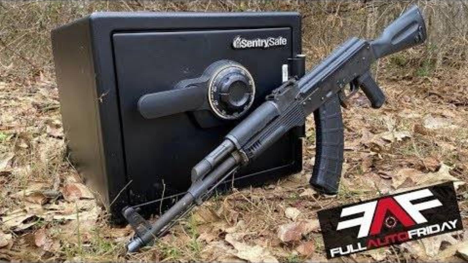 [Kentucky Ballistics]全自动AK-47射爆保险柜