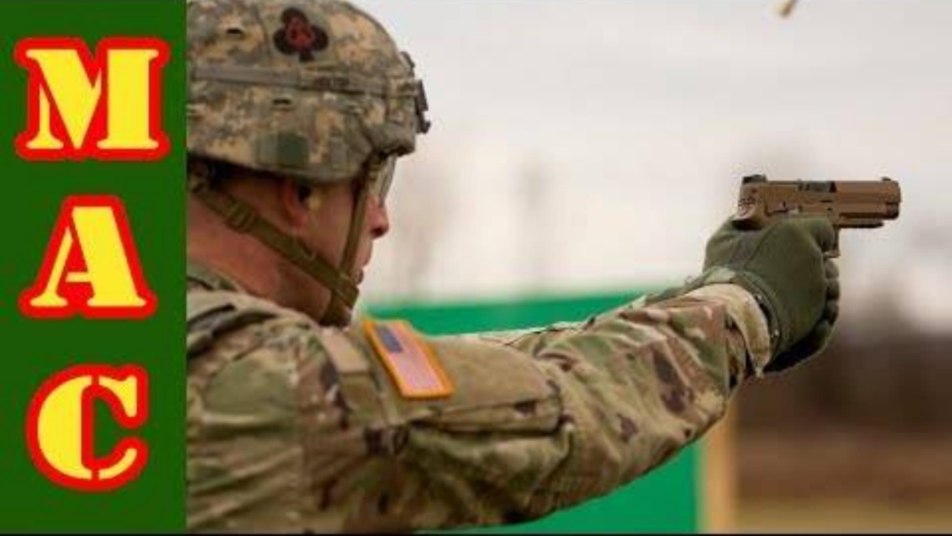 [MAC]试射军用剩余西格绍尔M17手枪