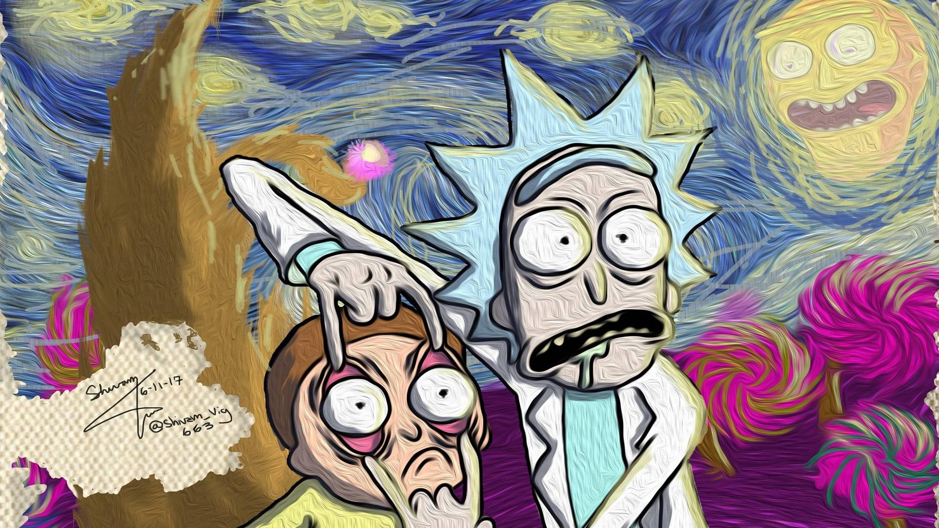 【瑞克和莫蒂】神明只是更强大的力量,拯救世界的都是孤独者,豆瓣9.8分