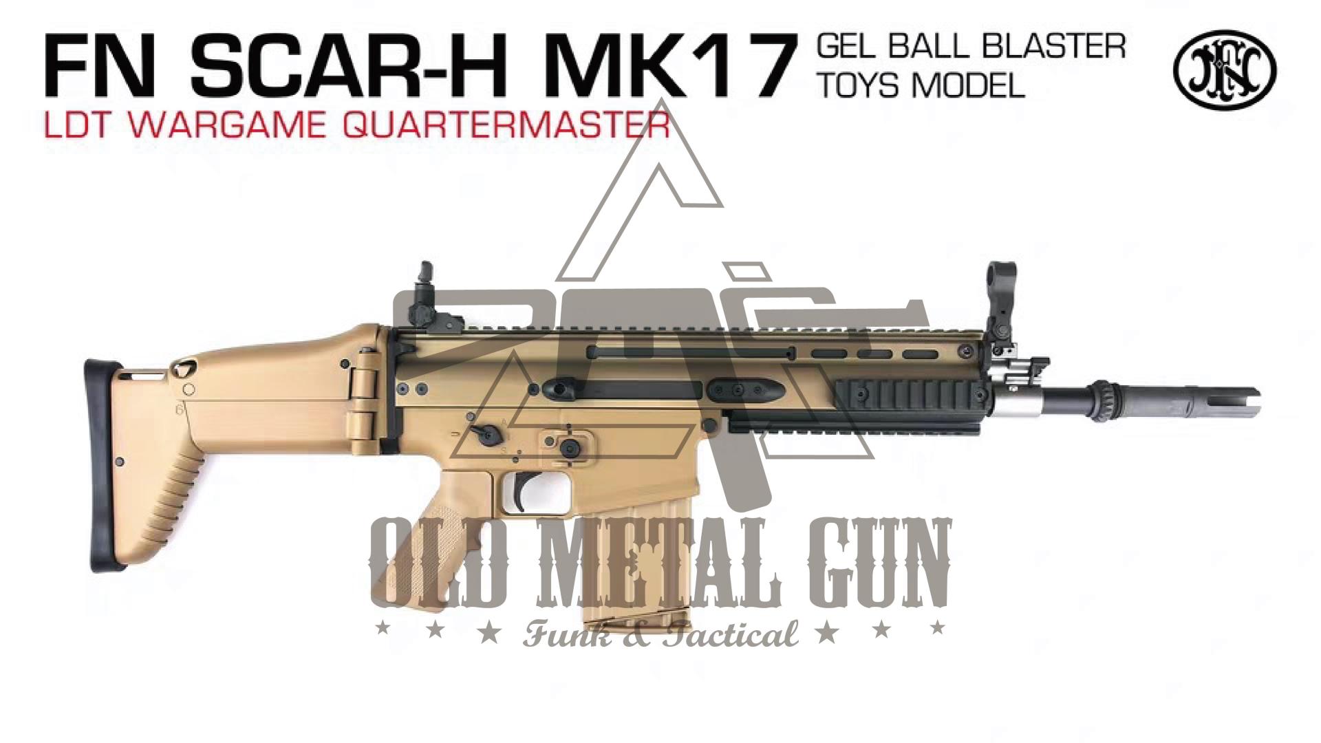 OMG【战术评说】LDT · SCAR-H MK17 土豪的玩具