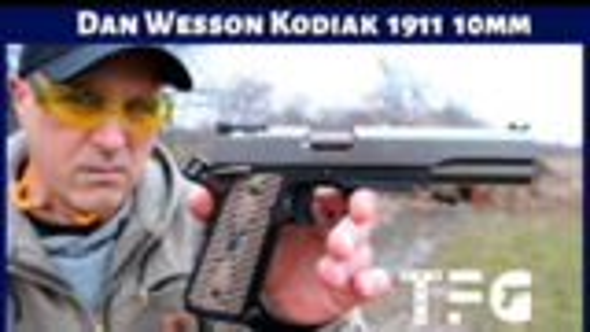 "[TheFirearmGuy]丹威森""科迪亚克""1911手枪"