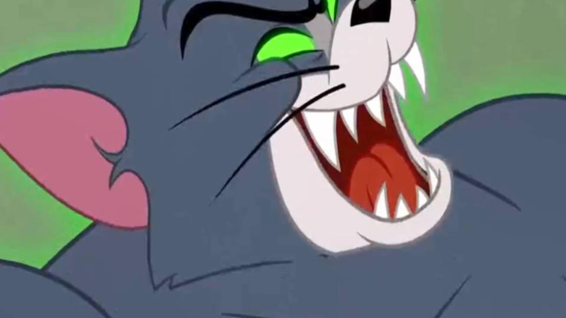 猫和老鼠:恶魔化的汤姆好厉害,杰瑞完全不是对手