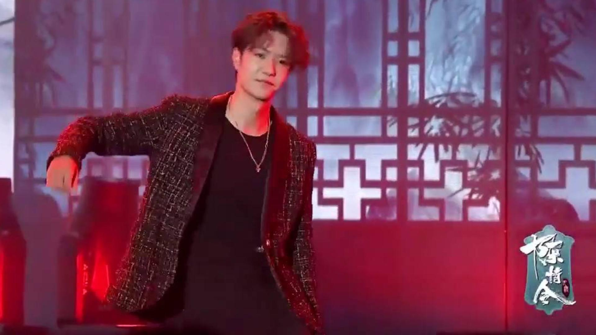 【陈情令粉丝见面会】王一博超帅舞蹈solo 阿伟乱葬岗!Wang Yibo Solo Dance.m