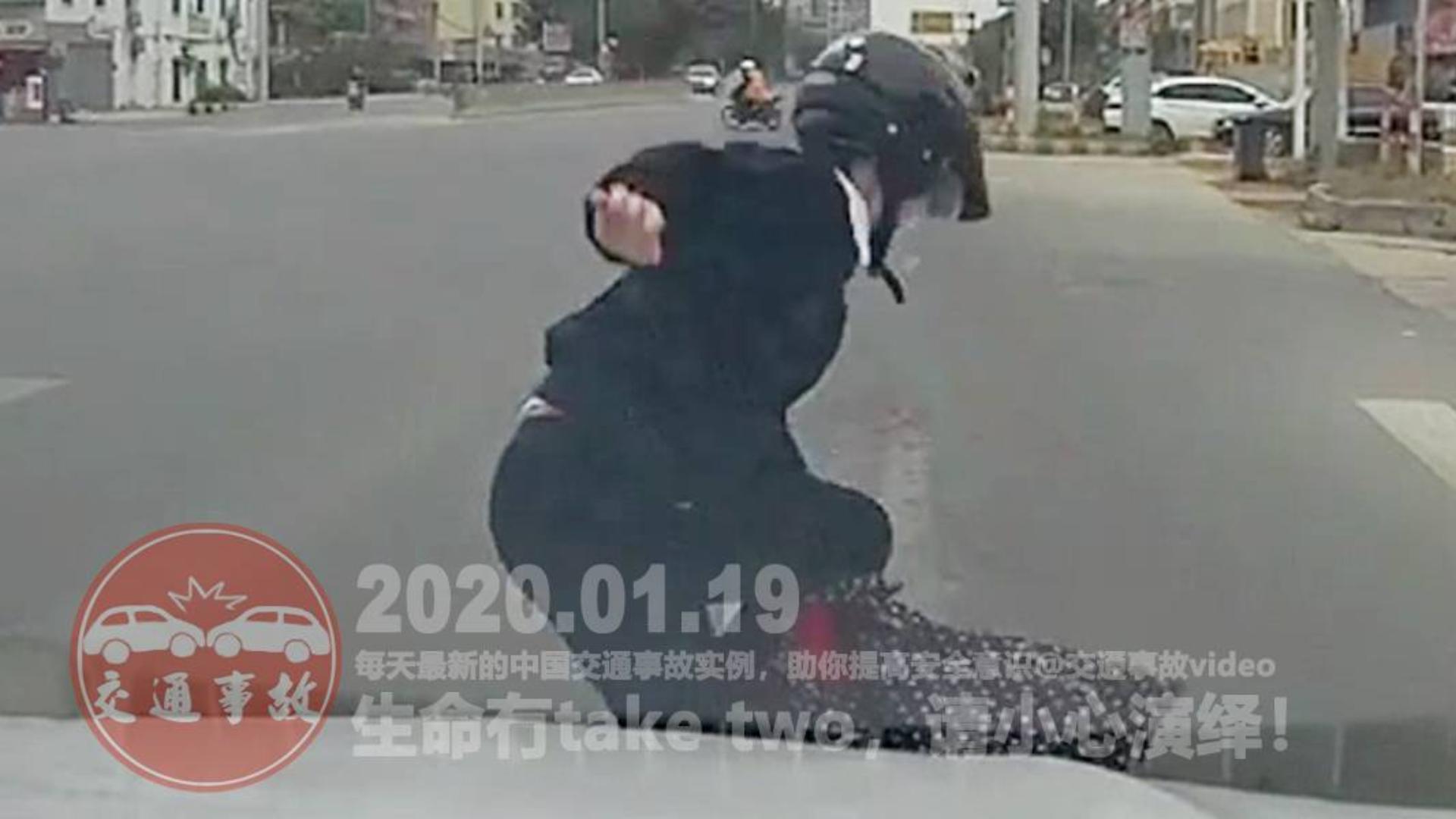 中国交通事故20200119:每天最新的车祸实例,助你提高安全意识
