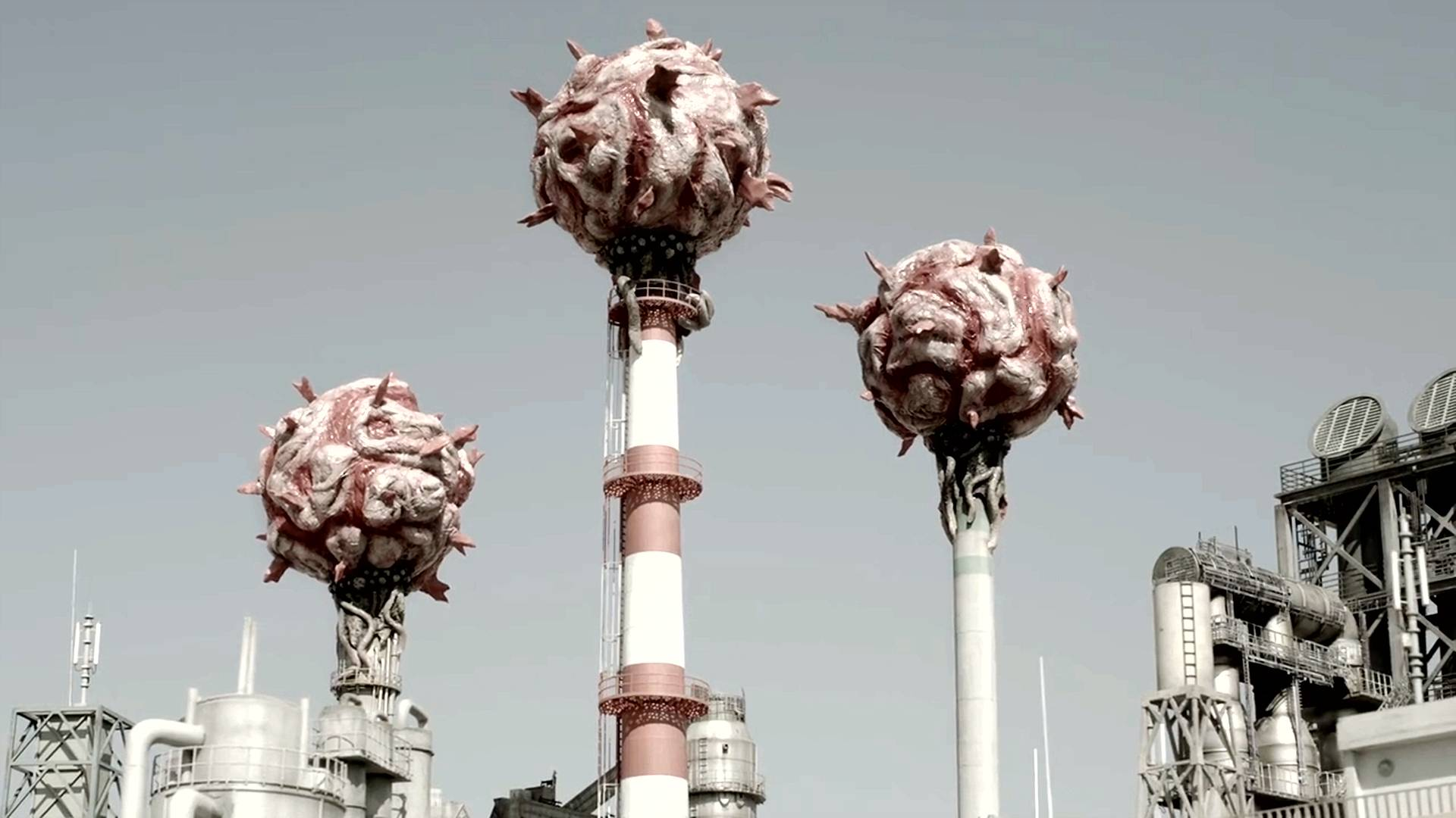 科幻片:神秘生物来到地球,以废气为食,帮着人类进化空气!
