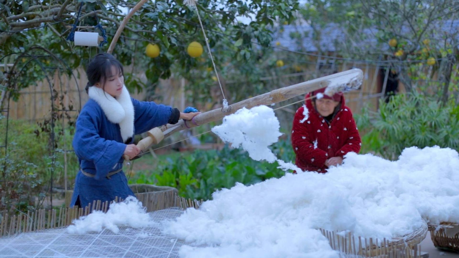 寒夜里最柔软的守护,暖暖的,很贴心——棉被