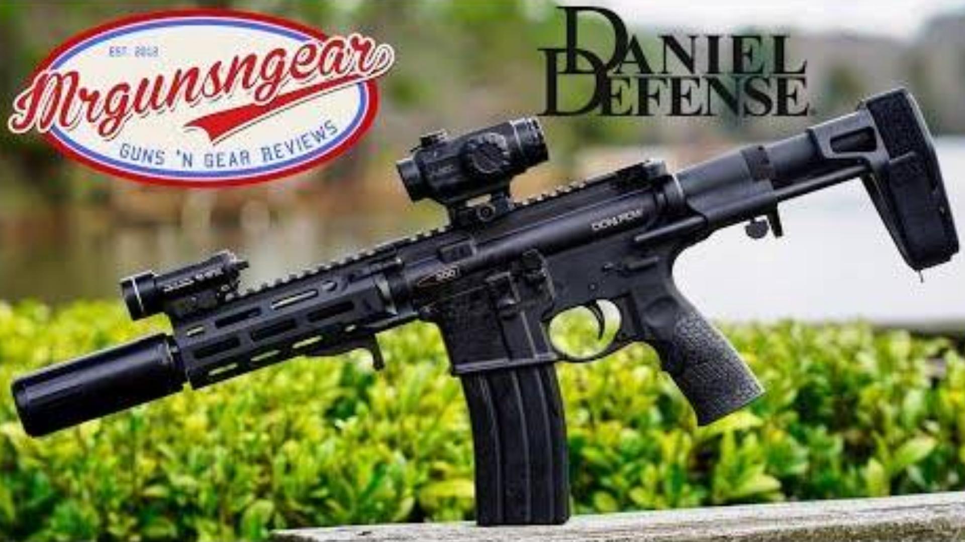 [Mrgunsngear]丹尼尔防务新.300步枪框架手枪