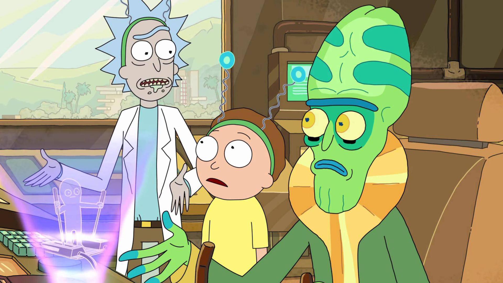 【瑞克和莫蒂】一块电池三层宇宙!天才也要向命运妥协,豆瓣9.8分
