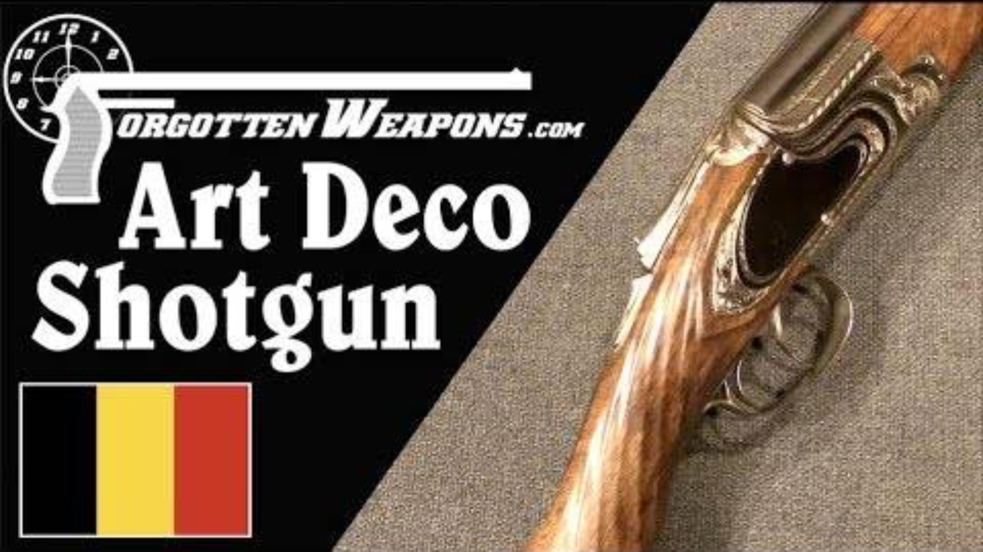 【被遗忘的武器/双语】带有水元素装饰风艺术的勃朗宁B25霰弹枪