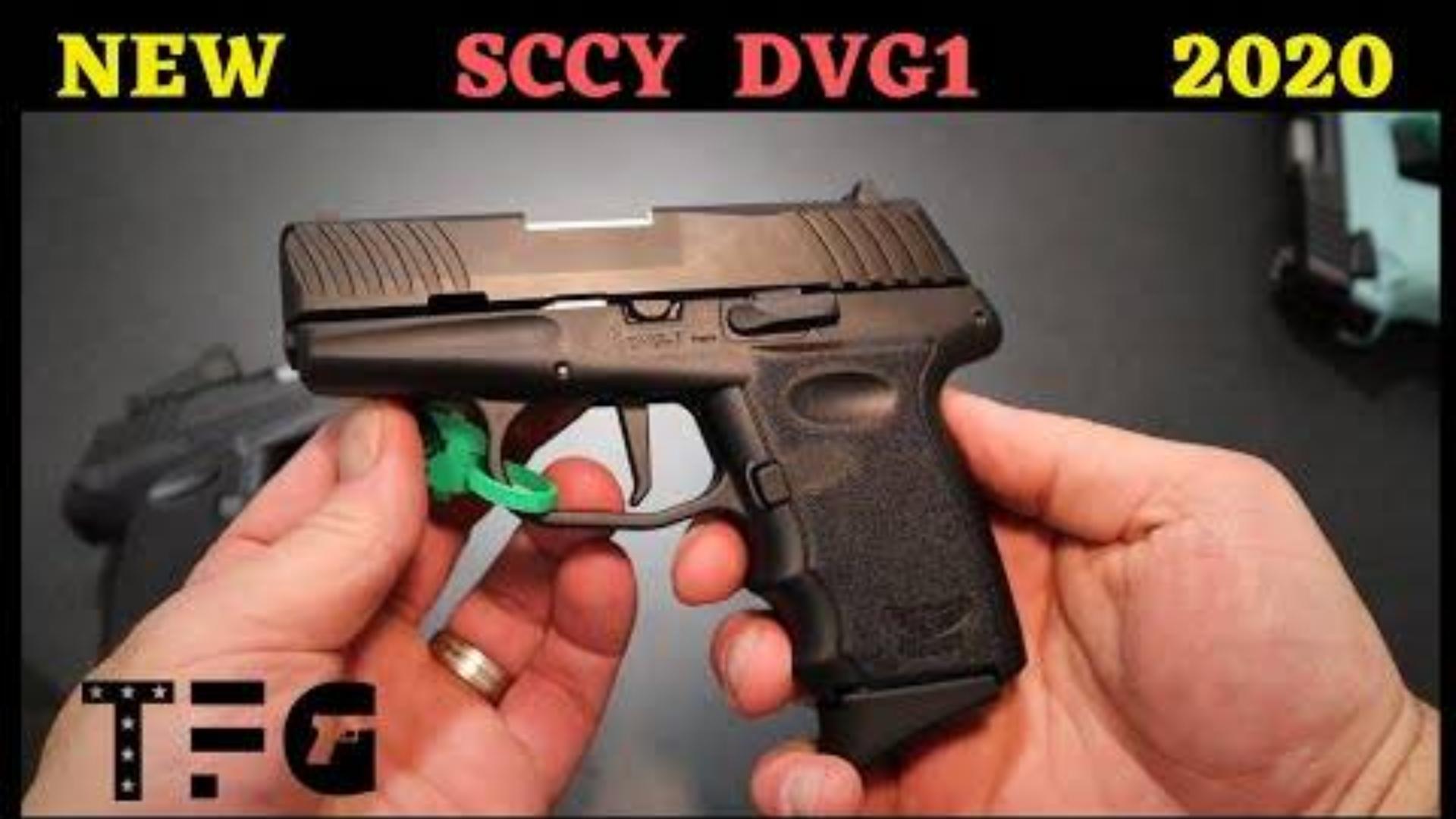 [TheFirearmGuy]SCCY军械新DVG-1 9mm手枪