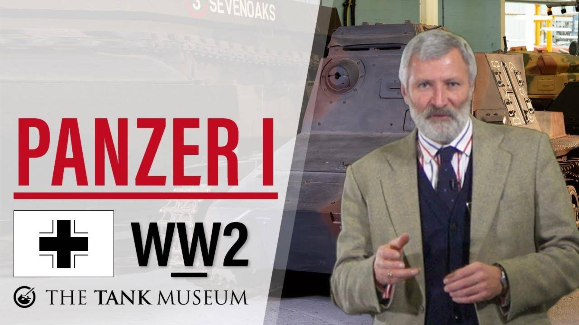 【坦克讲座/双语】大卫·威利-74-德国I号指挥坦克