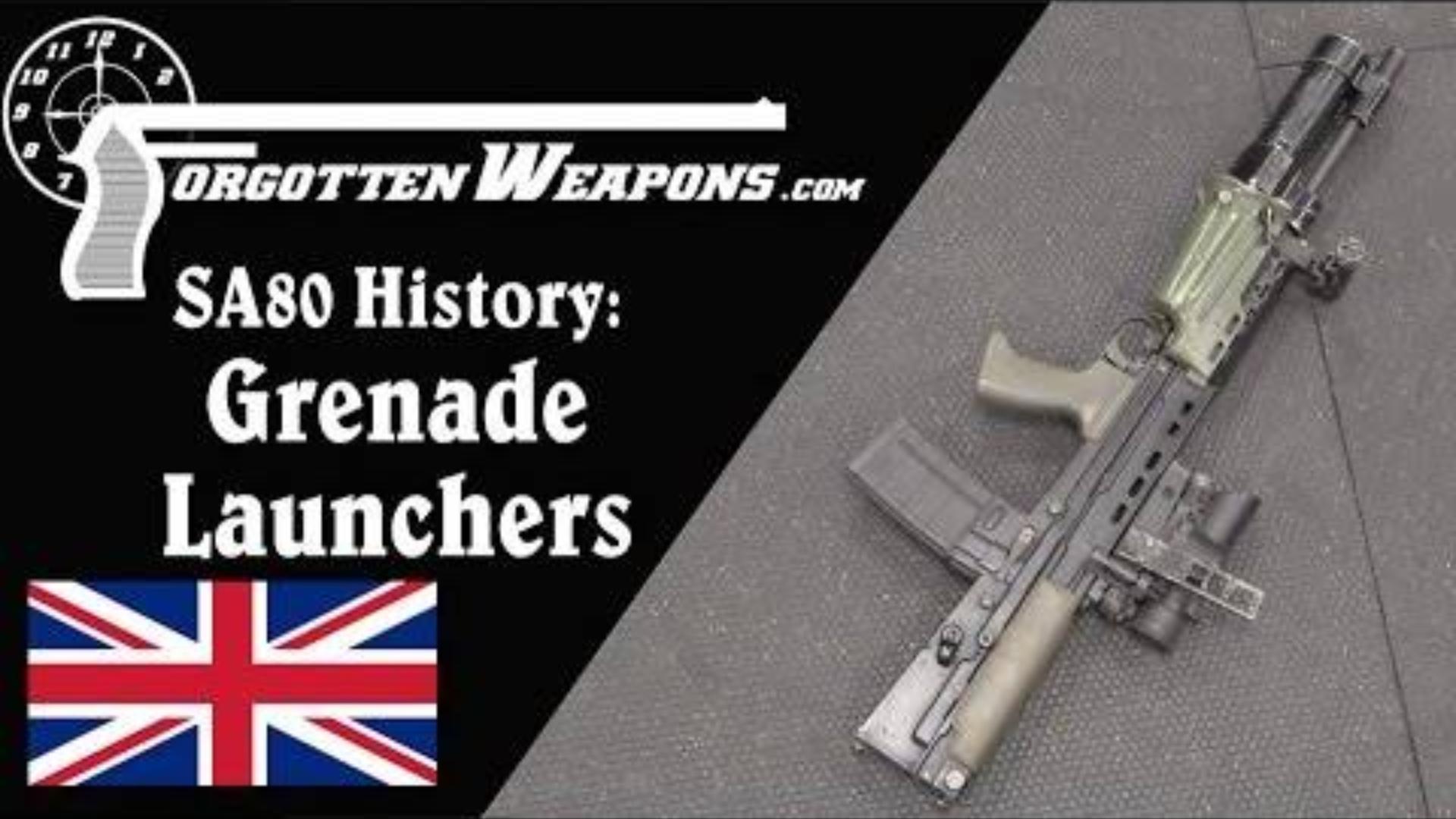 【被遗忘的武器/双语】SA80枪族的下挂式榴弹发射器介绍