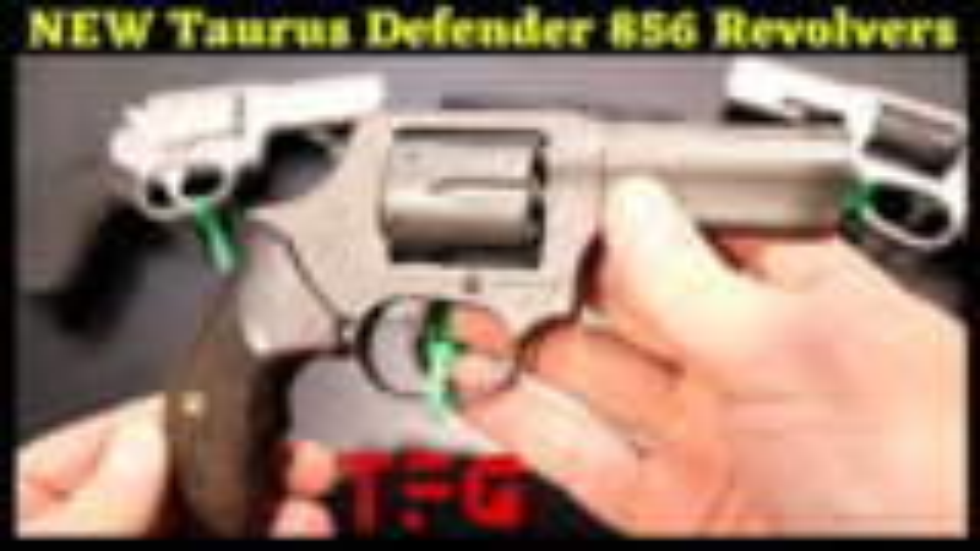 "[TheFirearmGuy]陶努斯新""辩护人""856左轮手枪"