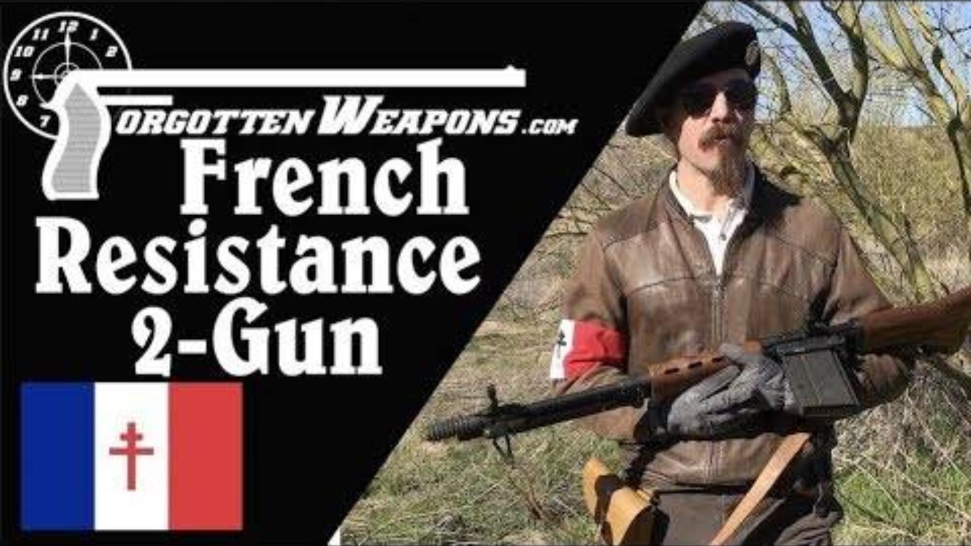 【被遗忘的武器/双语】法国反抗军主题双枪挑战赛(FG-42+Mle1935A)