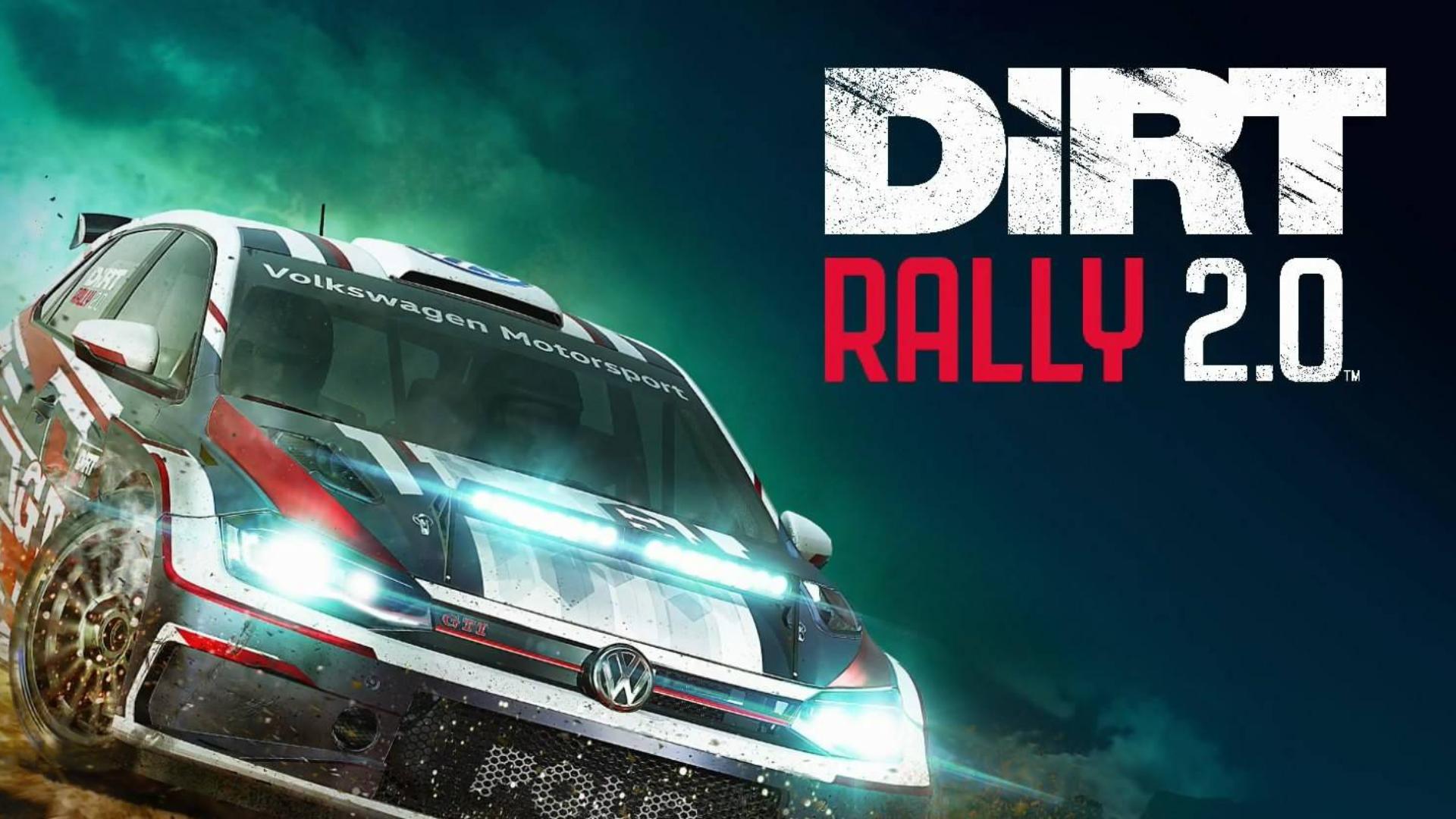 【不会开车】Dirt Rally 2.0 尘埃拉力赛2.0 随便玩玩