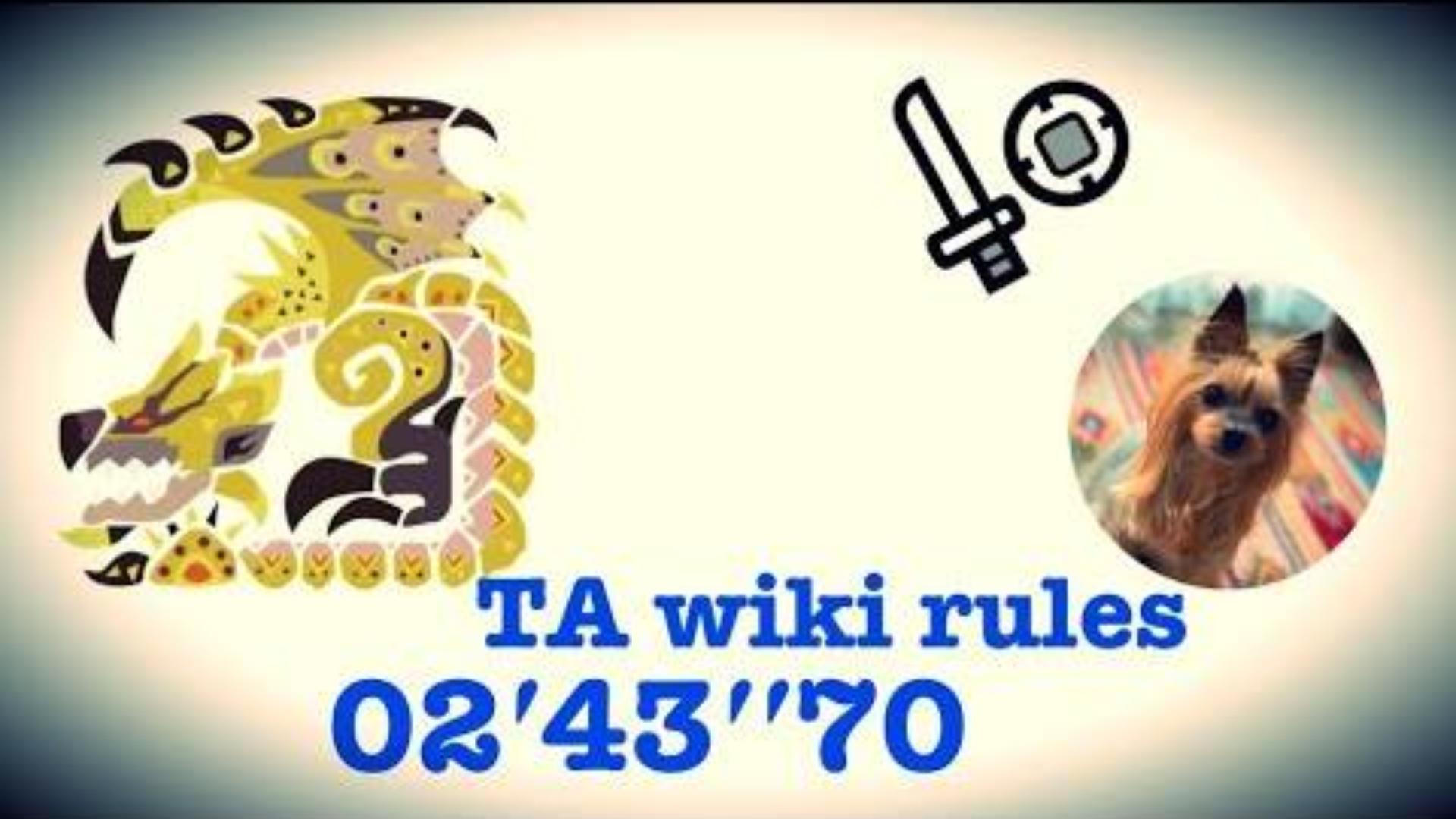 【搬运】金火龙 片手剑TA规则 2:43