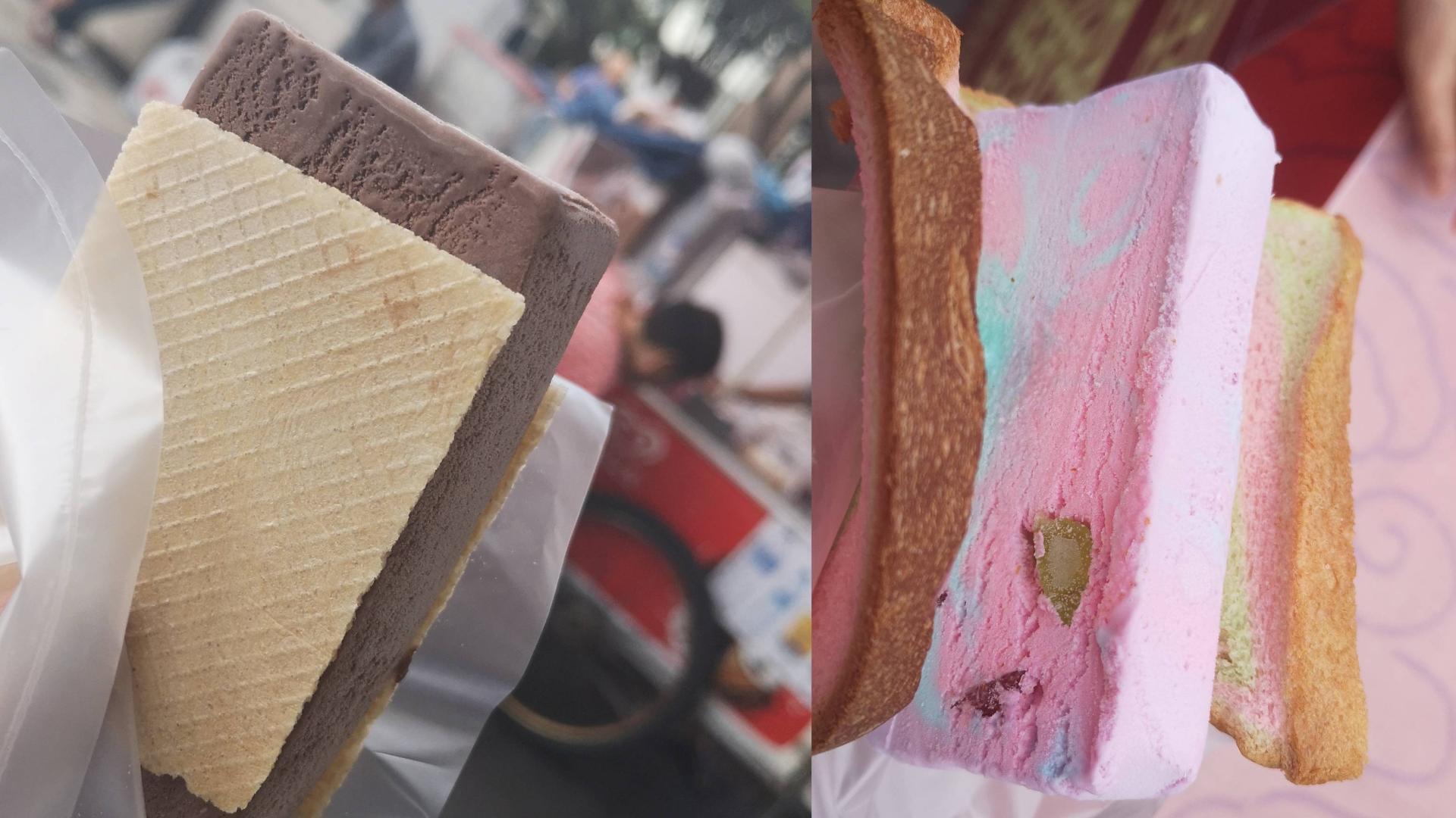 探访三家网红冰淇淋店~才一块多一个,好吃还解暑!