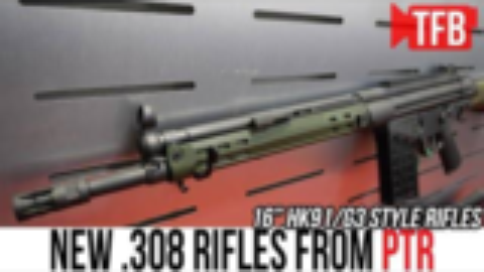 [TFB]新RTR-91系列HK91/G3步枪