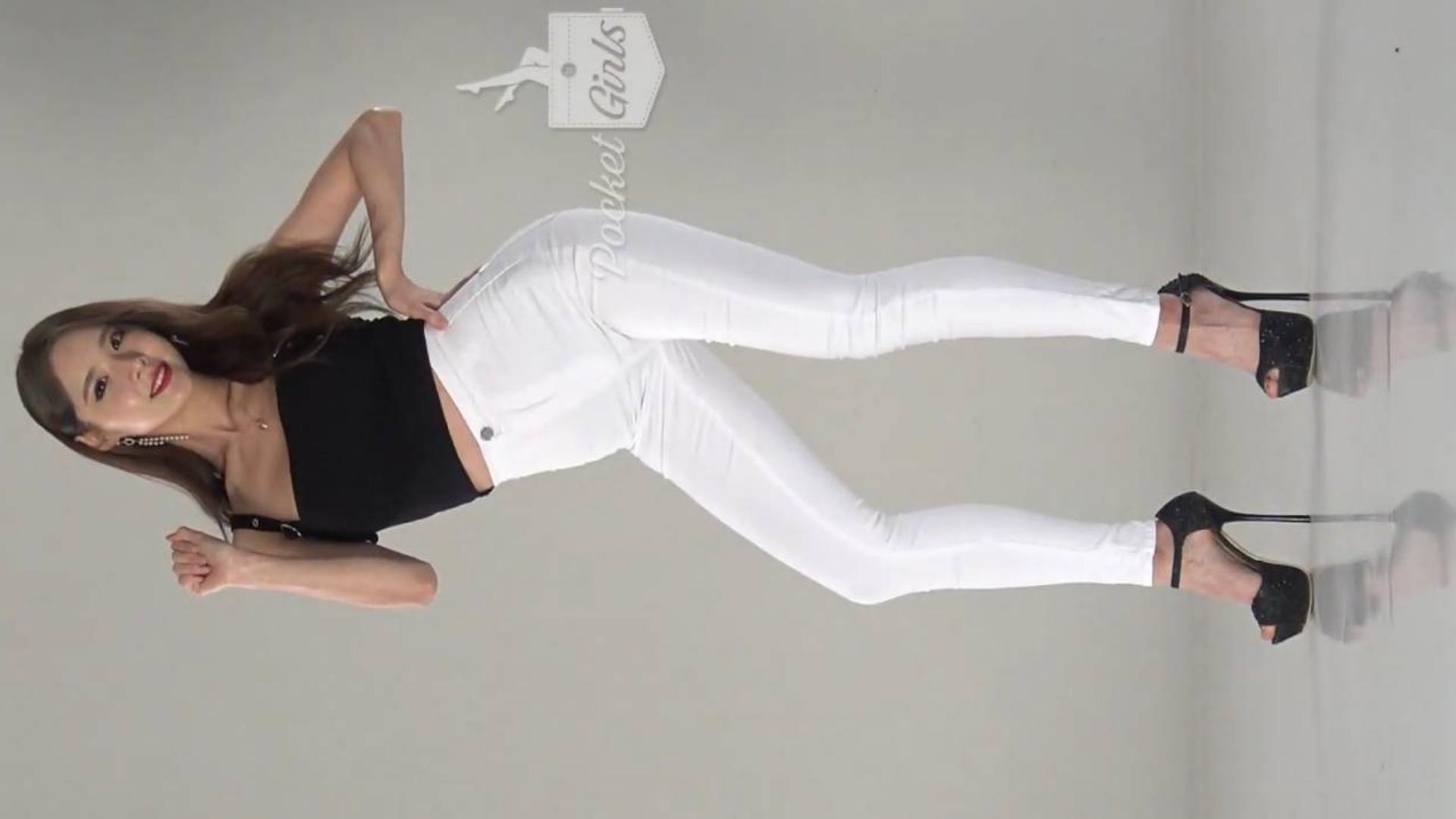不是人人都能穿白裤子~你们的Pocket Girls夏斌