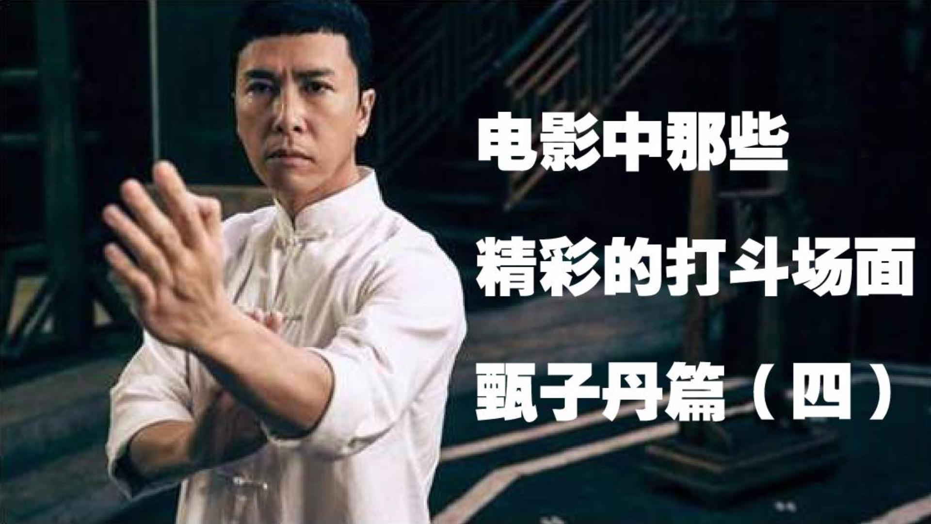 电影中那些精彩的打斗场面甄子丹篇(四)