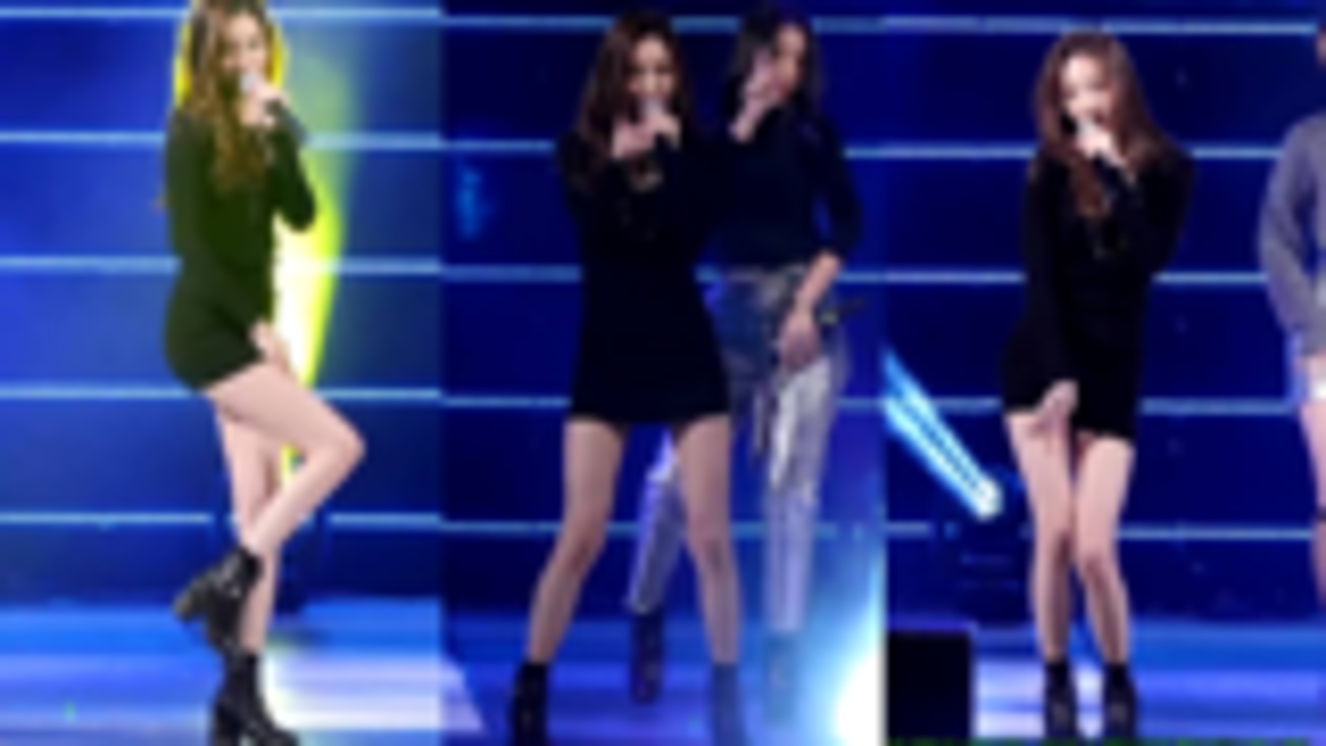 (Wonder Girls)  I Feel You Fancam 竖屏