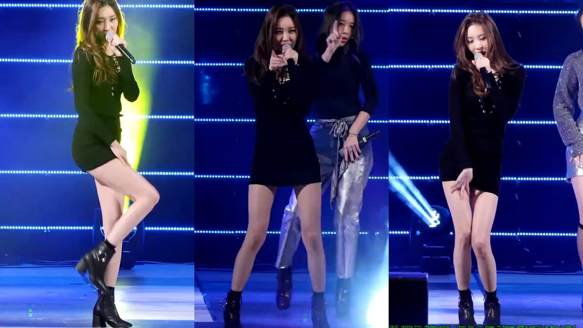 (Wonder Girls)  I Feel You Fancam 竖屏