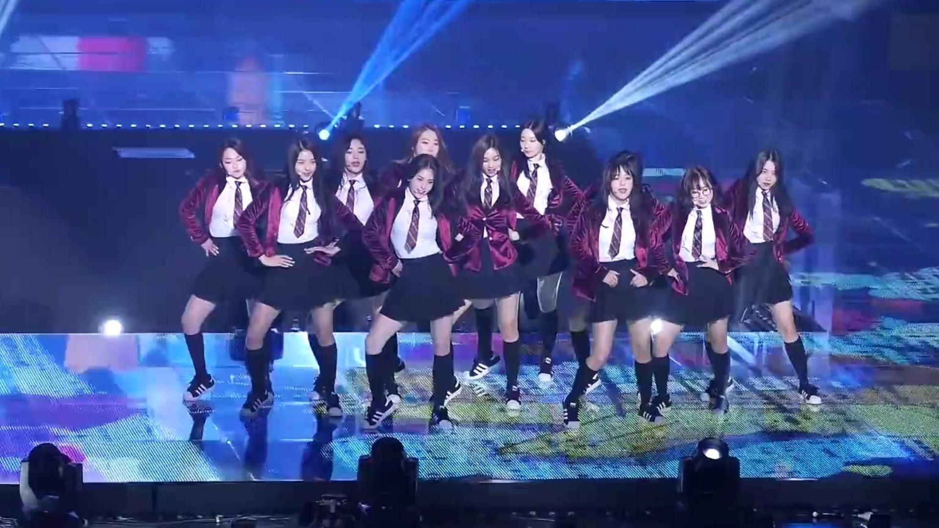 (I.O.I) Last (Dream Girls)  Fancam