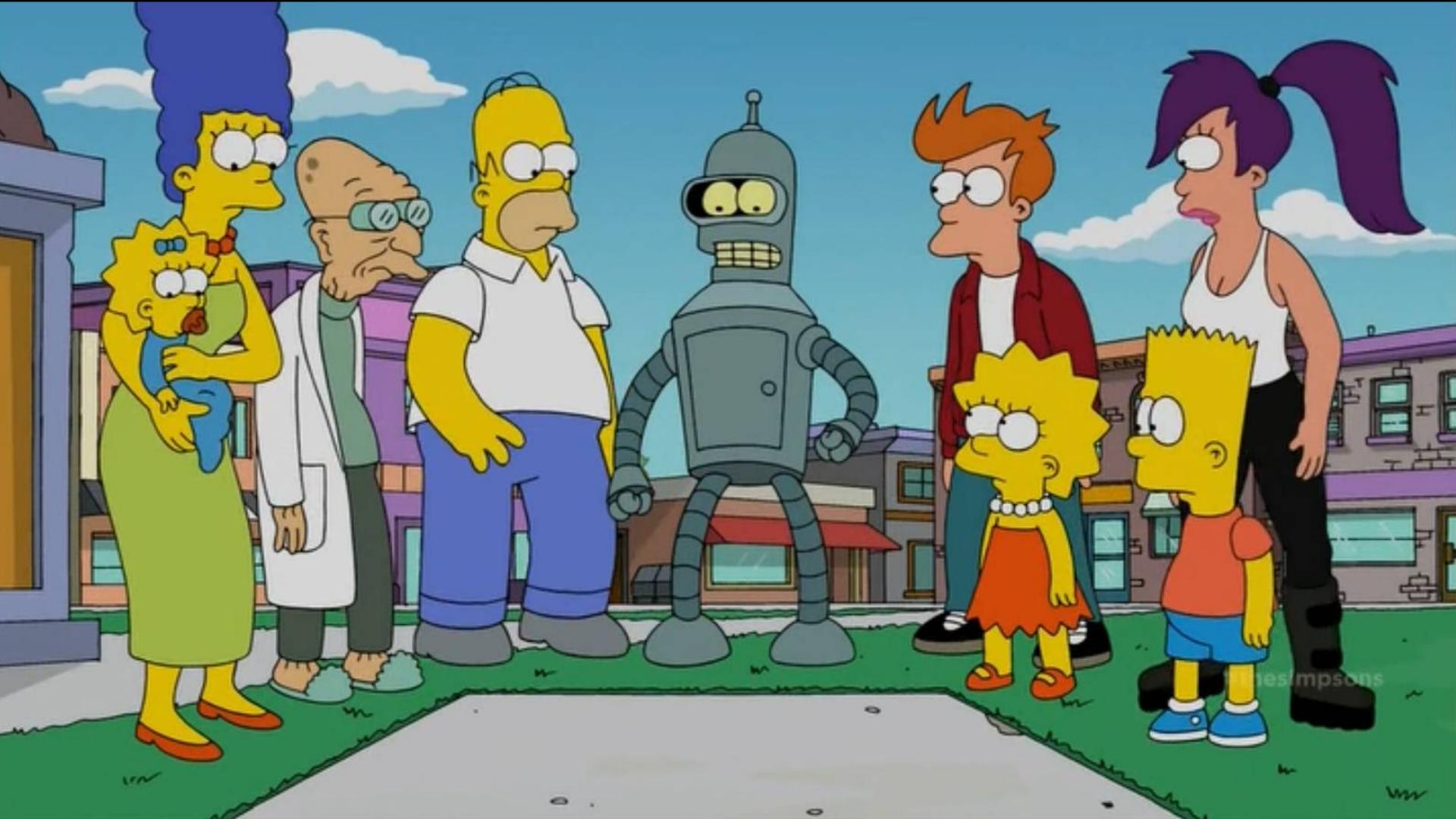 """【毛豆】《飞出个未来》又玩""""时间旅行"""",这次直接杀到《辛普森一家》!"""