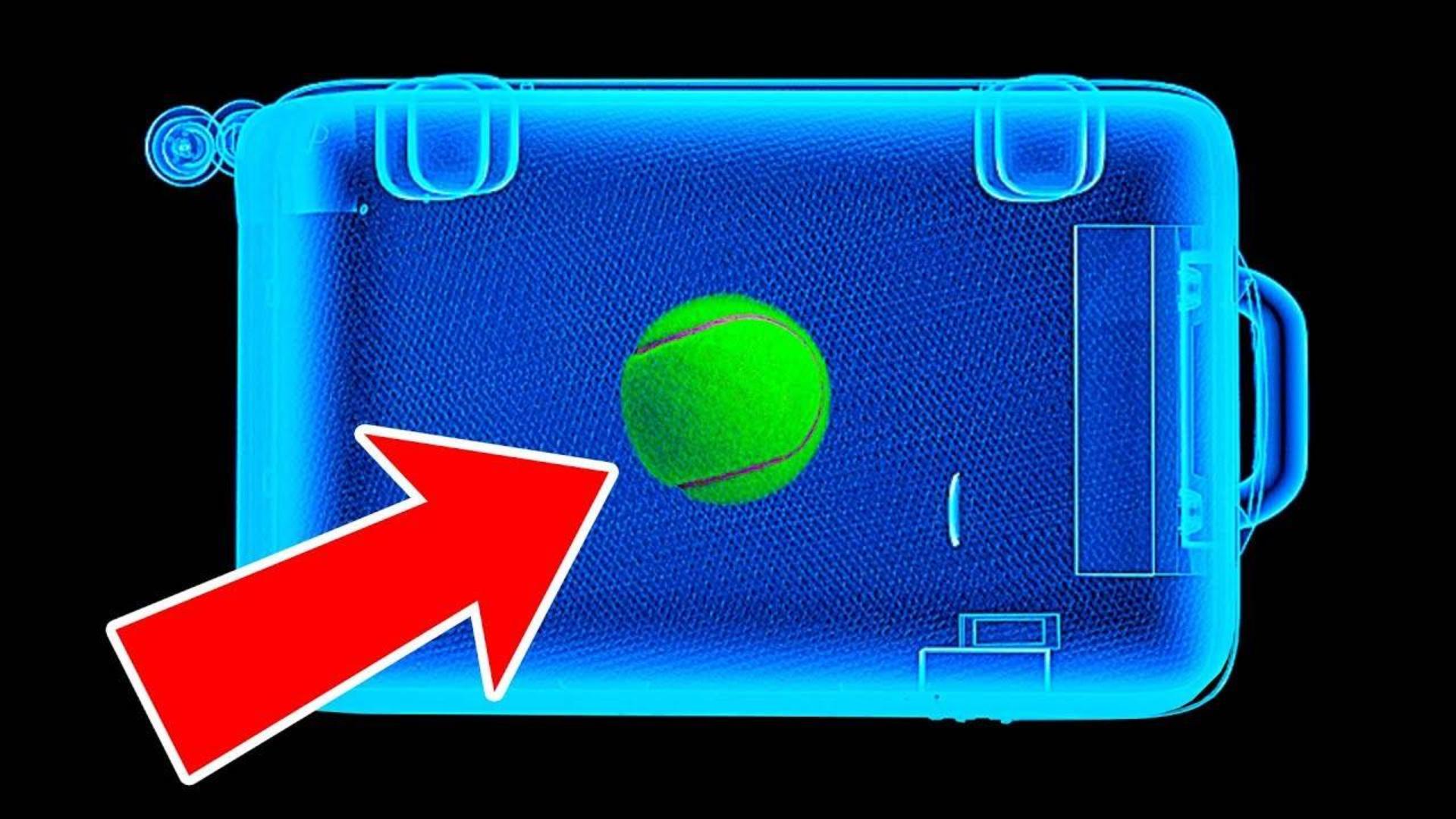 为什么要随身在自己的行李里装一颗网球?