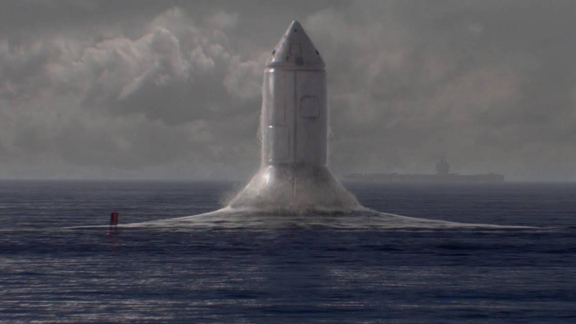 从海底发射的海龙号火箭? 如果建造成功它将是人类历史上最大的运载火箭