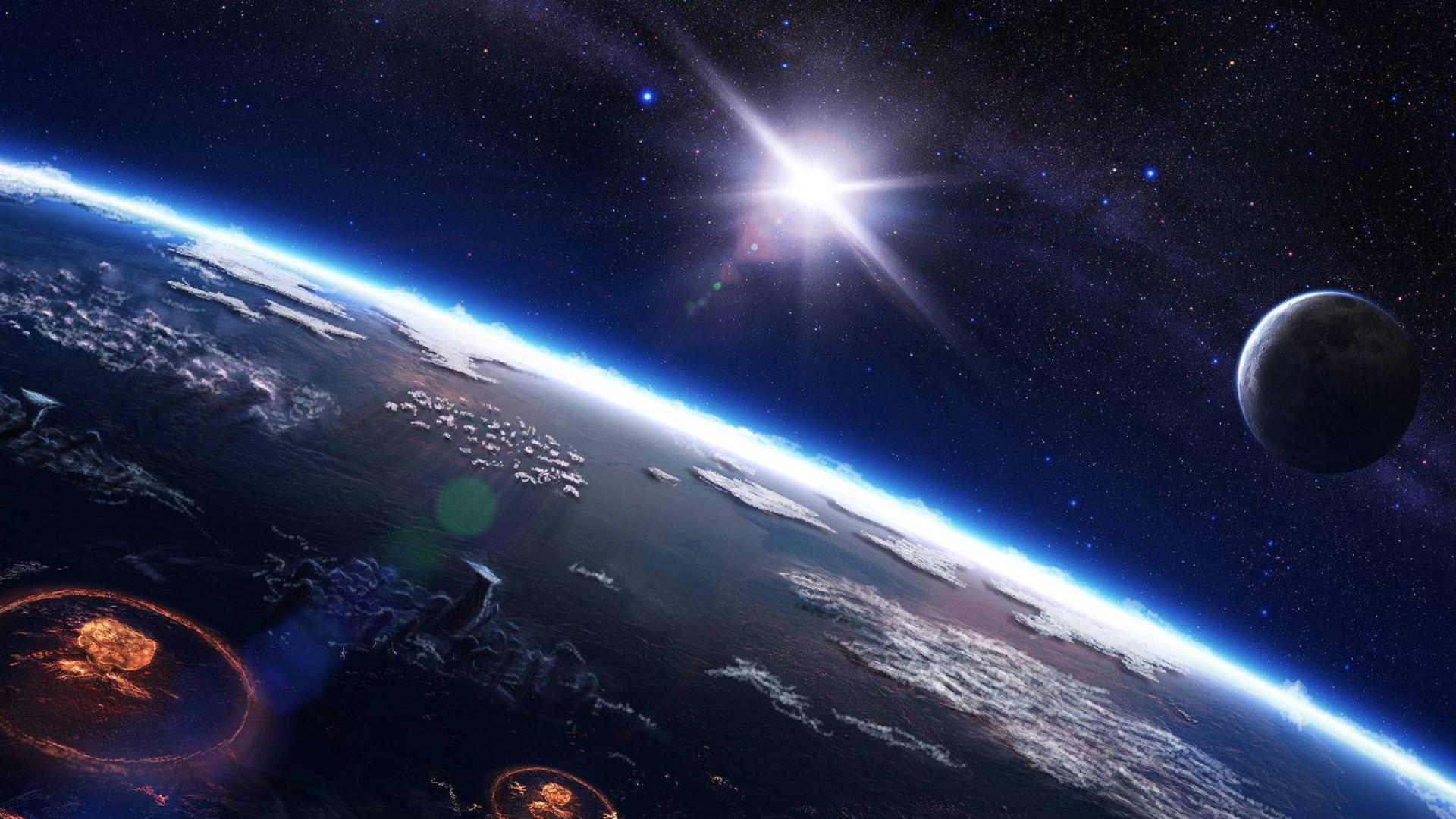 窗外的世界-国际空间站的地球延时