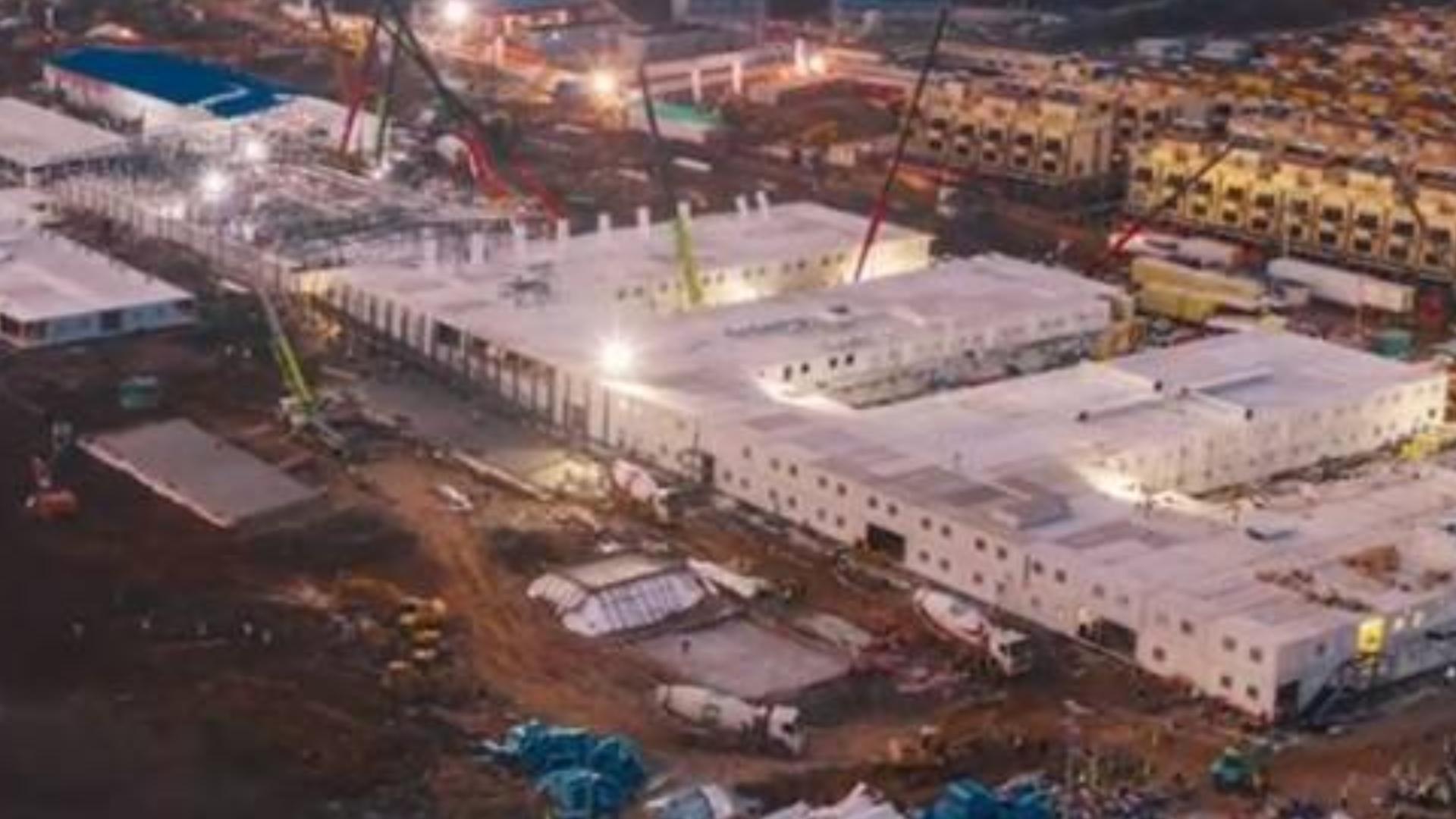 超清延时摄影全纪录《火神山医院是这样建成的》