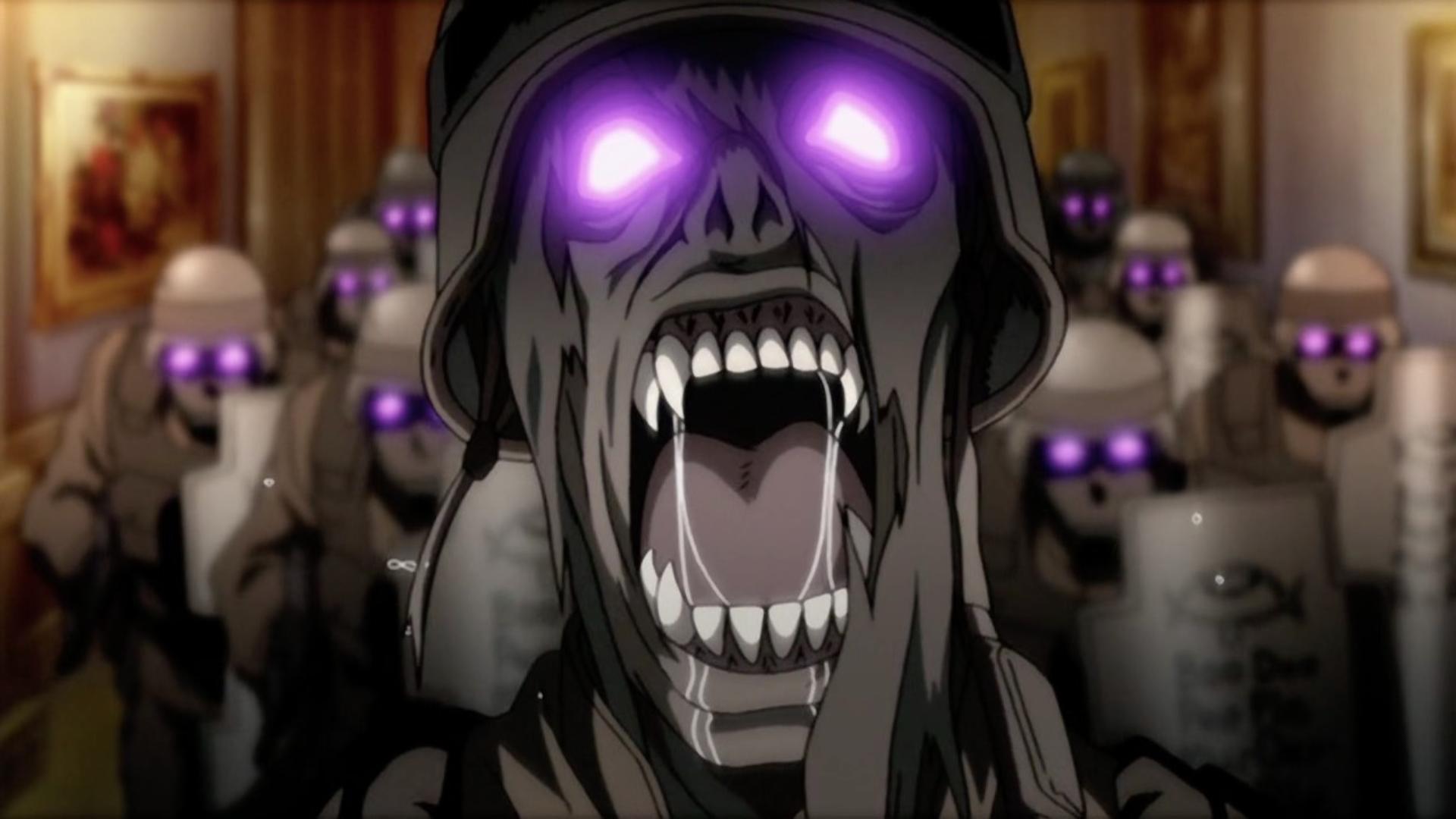 人造吸血鬼闯入驱魔人总部,屠杀守卫后,遭遇真·吸血鬼