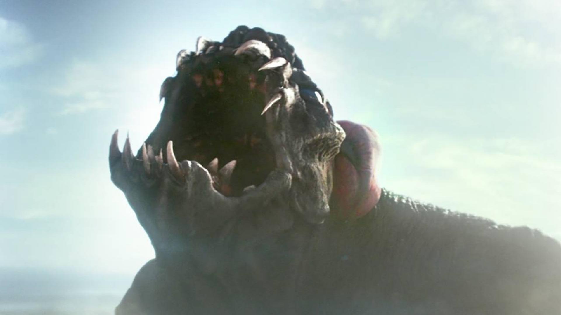 人类进行能源实验,却不慎撕裂时空膜,引来了超级巨大的怪兽!