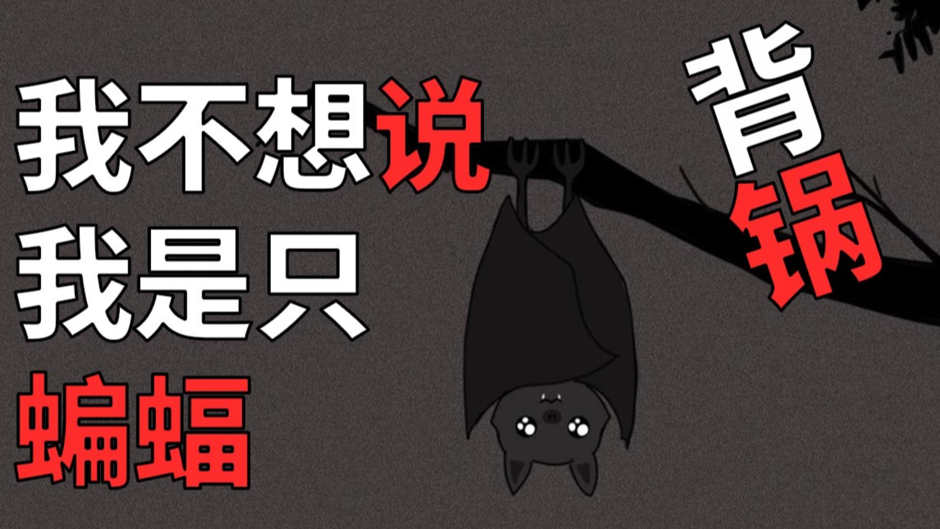 【抗击肺炎】一只蝙蝠的自述 我也很无奈