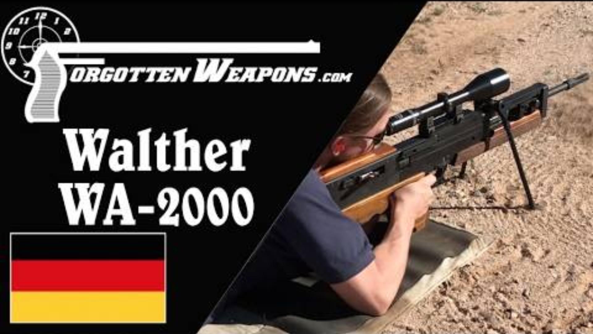 【被遗忘的武器/双语】WA2000狙击步枪彻底剖析/靶场试射