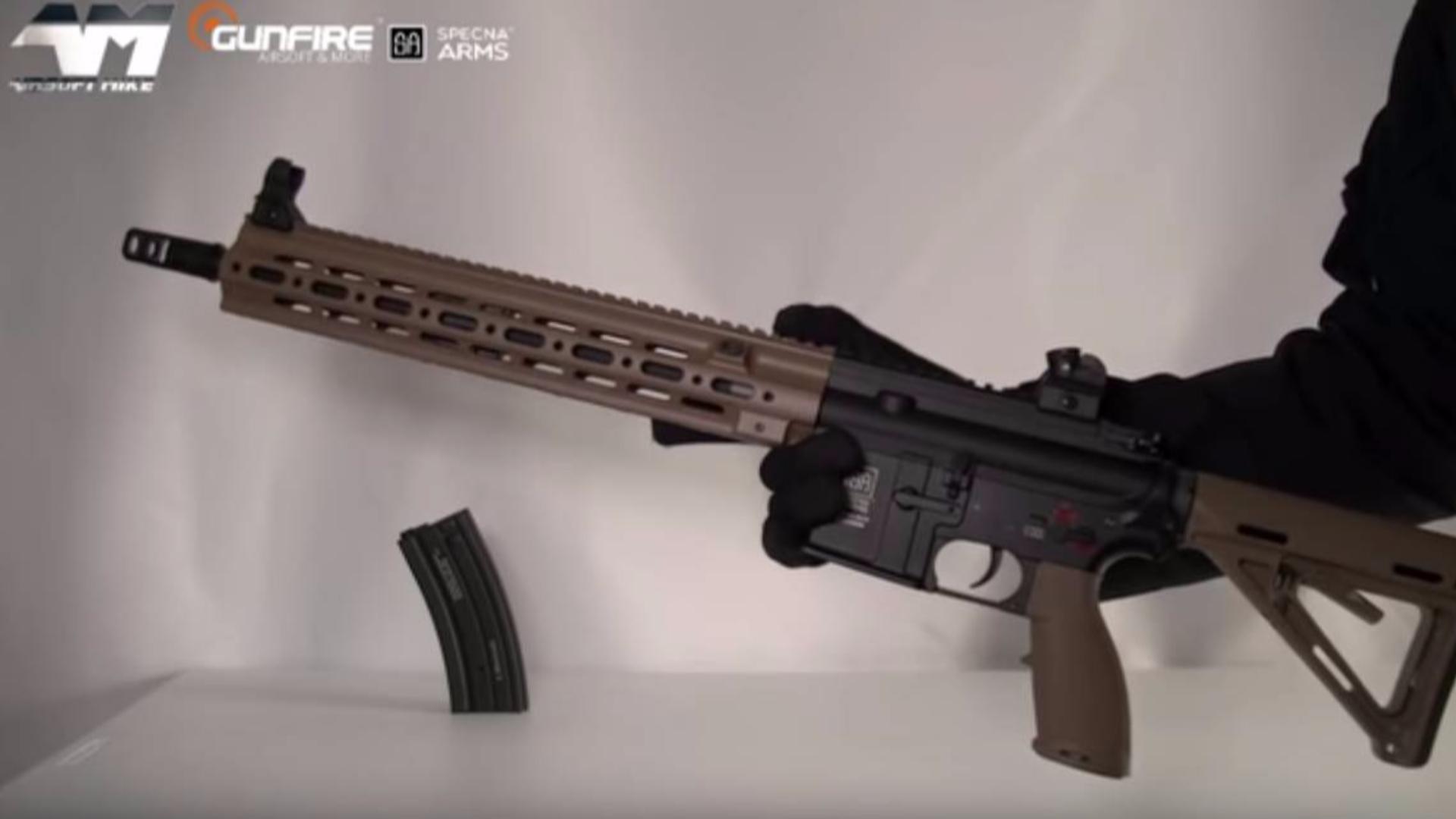 黑人小哥麦克:SpNA武器SA H06米一个/空气软装箱评论