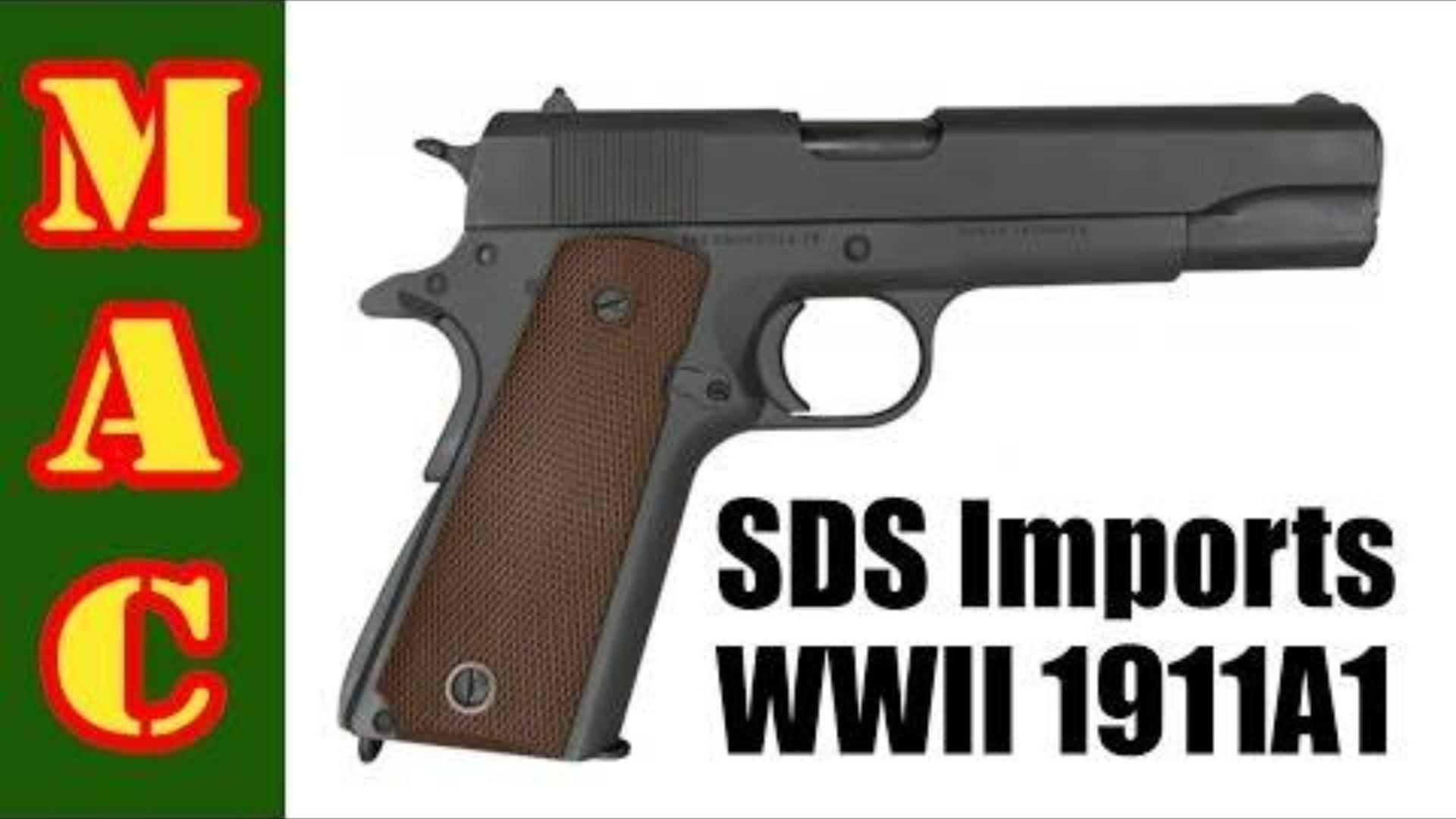 [MAC]SDS新1911A1二战克隆版手枪