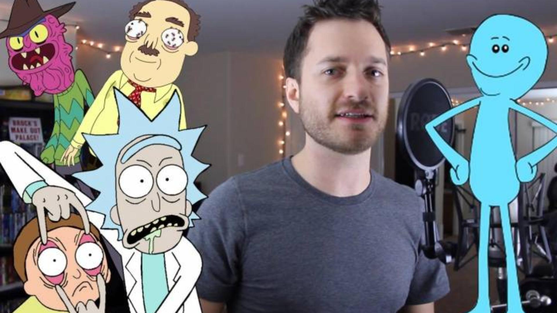 【瑞克和莫蒂】模仿《瑞克和莫蒂》里的人物说话(McGoiter)