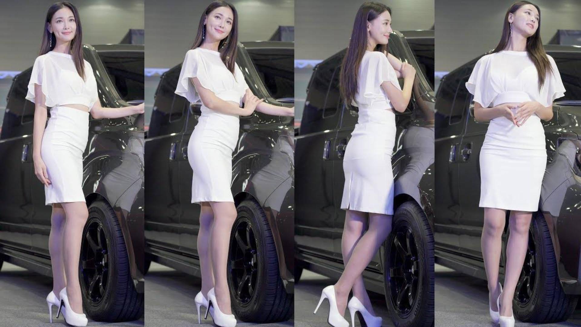 2019 汽车沙龙周 模特 - 문가경 [文嘉京]