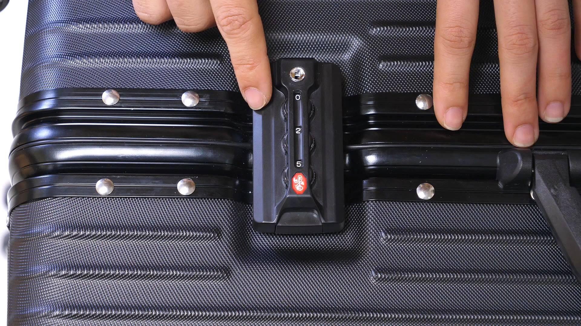 行李箱密码忘了怎么办?教你一个小妙招,只需30秒,就能轻松打开