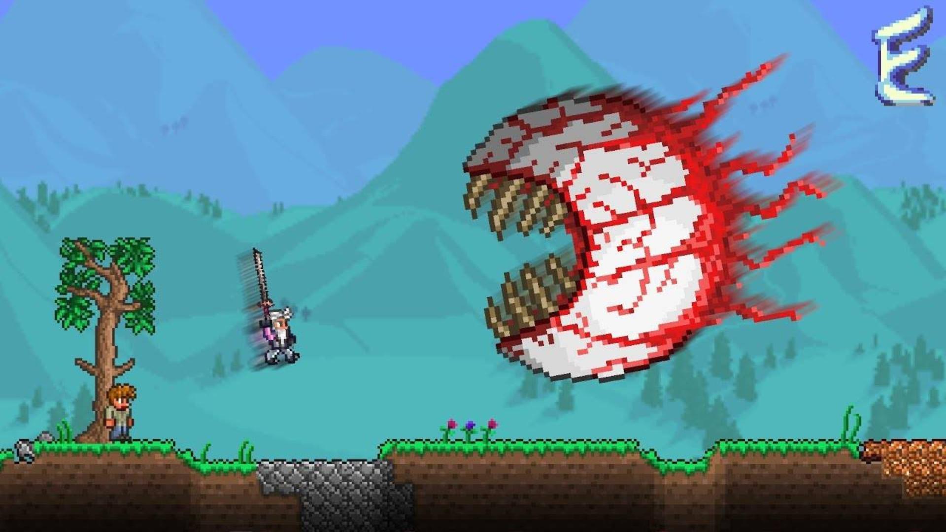 吸收史莱姆王的忍者力量! Terraria Elements Awoken Mod #3