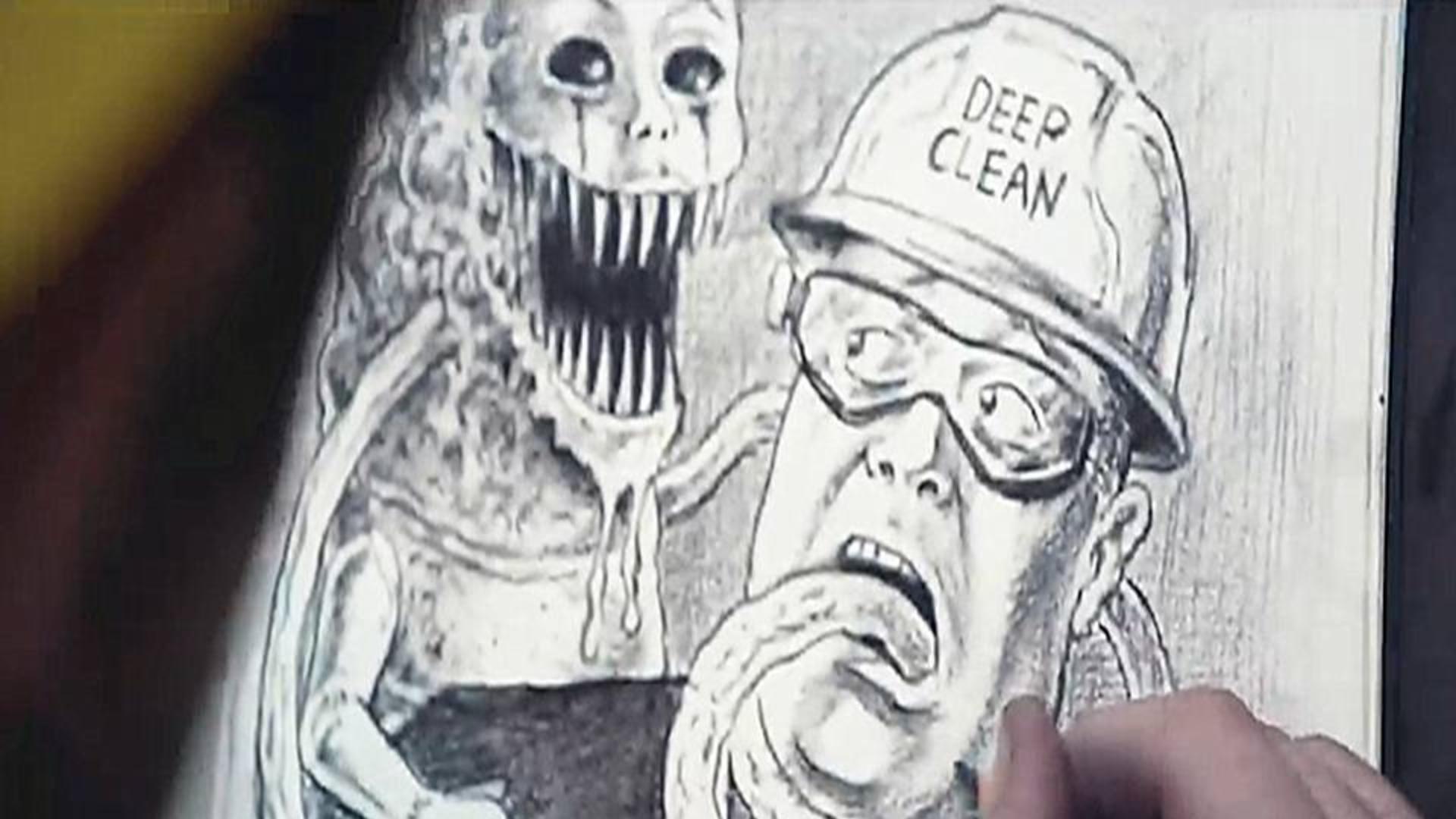 科幻短片《深度清理》下水道清洁工竟是世界英雄,默默对抗着异次元怪物,怪兽科幻短片