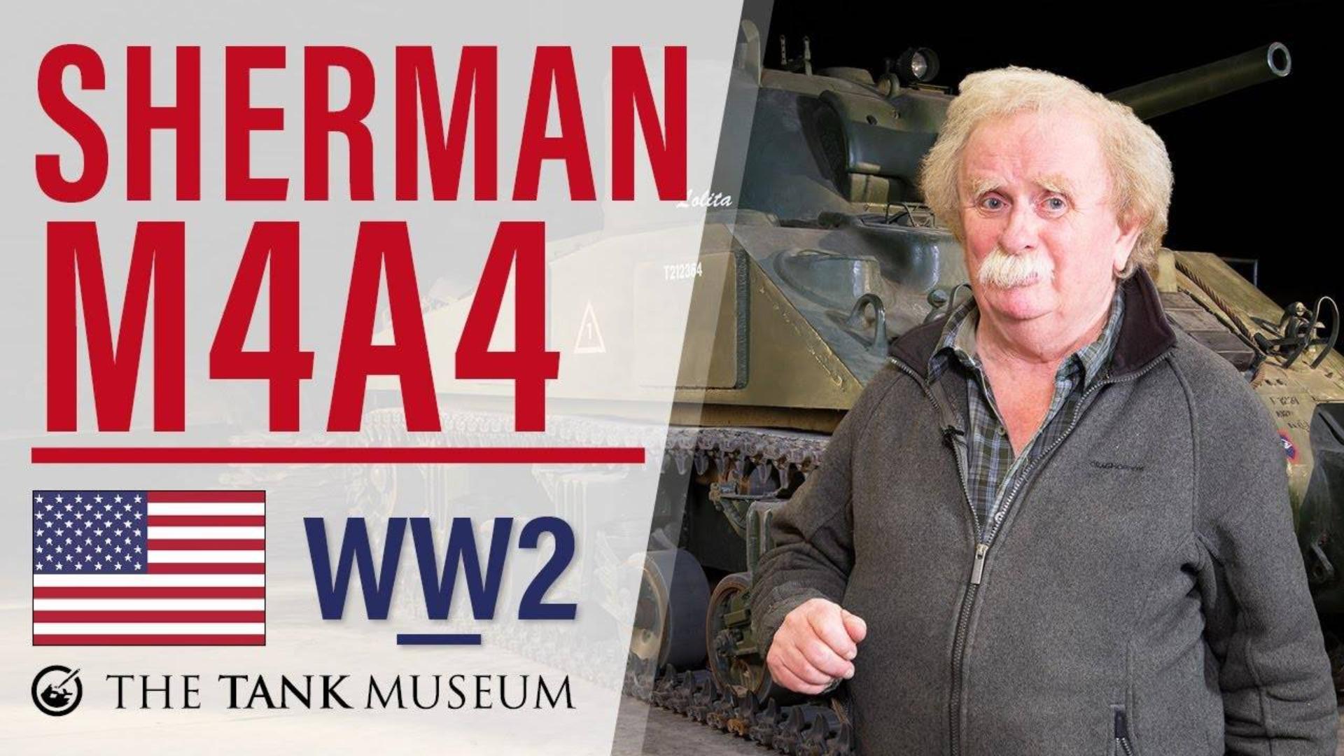 【坦克讲座/双语】大卫·弗莱彻-70-M4A4谢尔曼