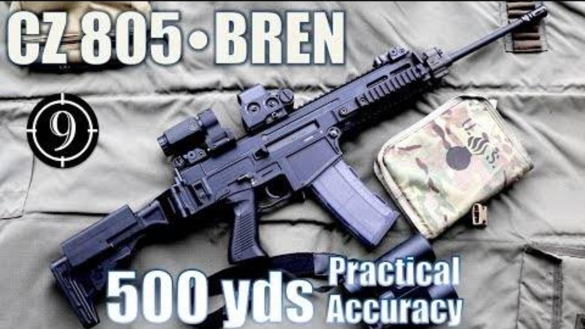 [9-Hole Reviews]CZ805步枪500码精准射击挑战