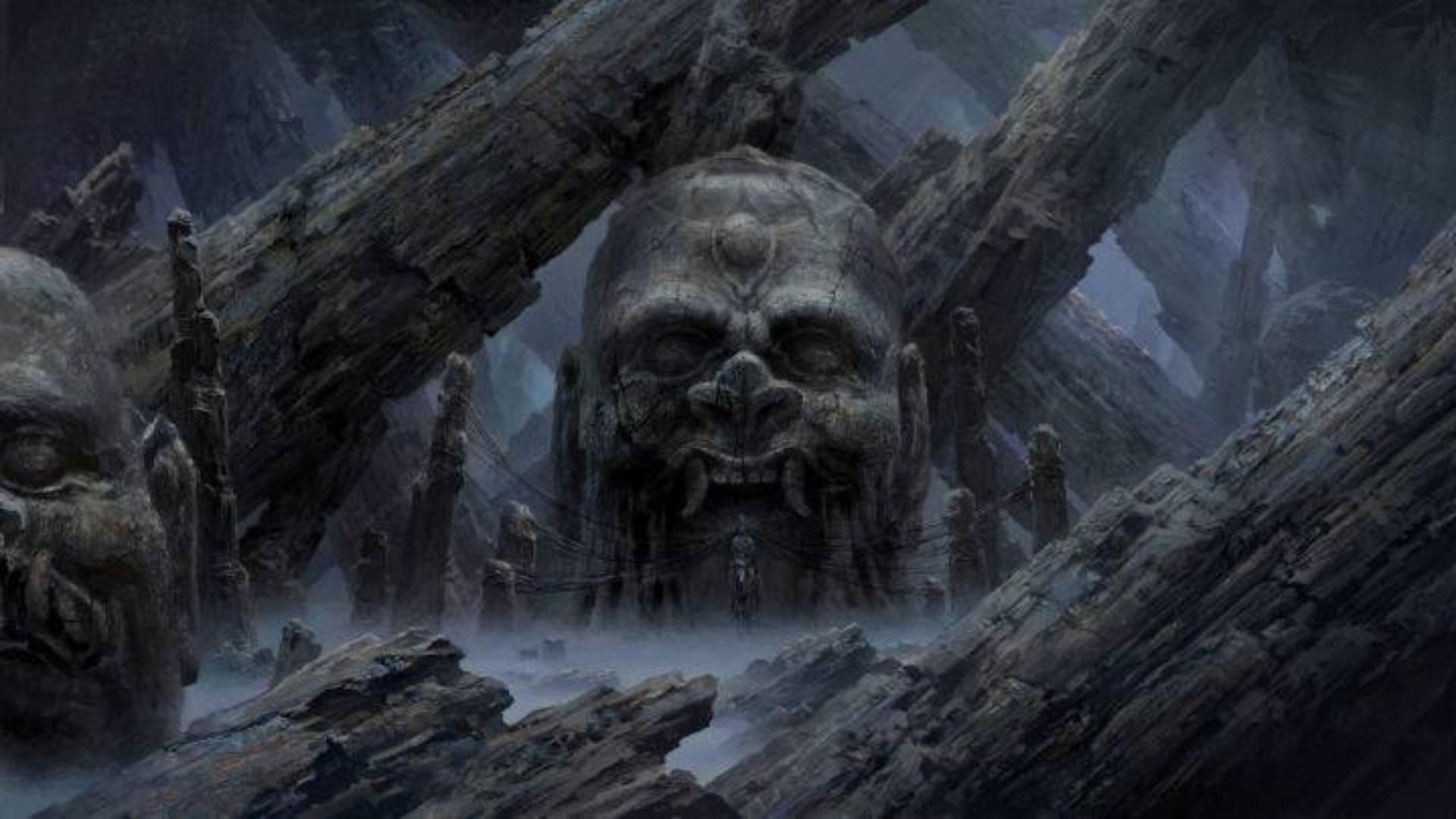 神话中记载了一个由鬼组建的神秘鬼国,那里阴暗寒冷不见天日