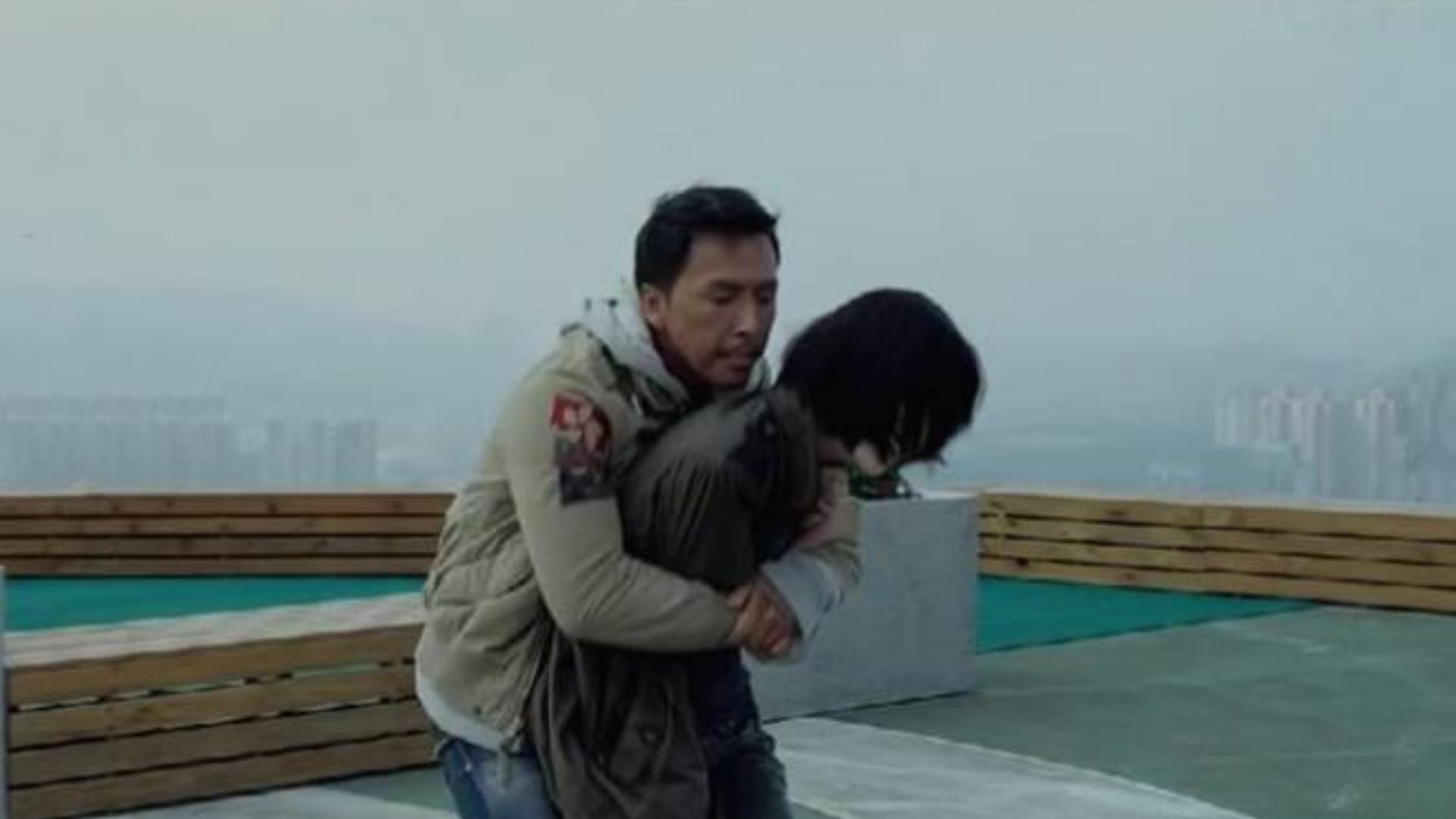 甄子丹和景甜这段戏太经典了,让人大饱眼福,真是百看不厌