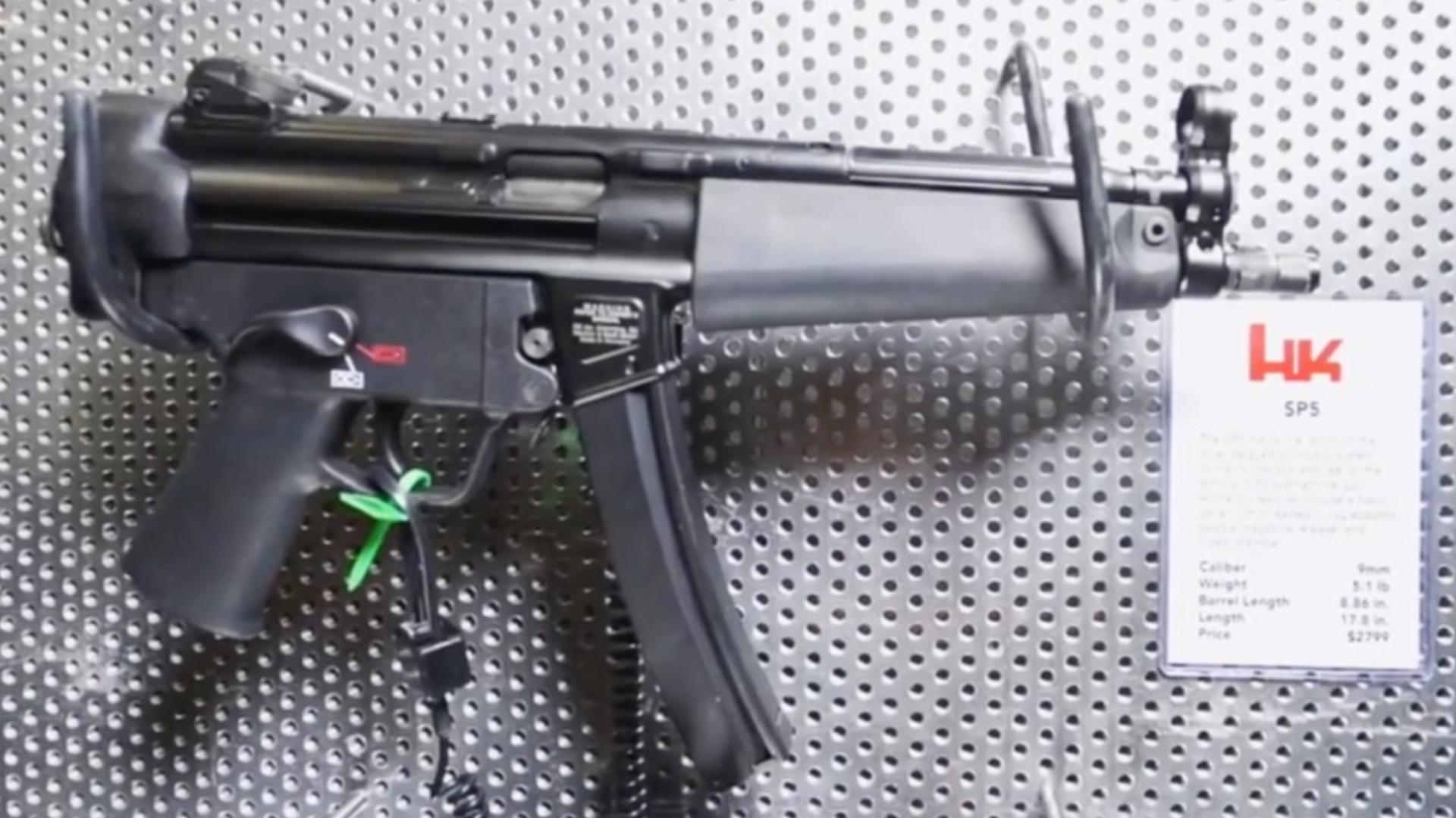 【VickersTactical(中文字幕)】ShotShow2020系列:HK SP5卡宾枪/手枪