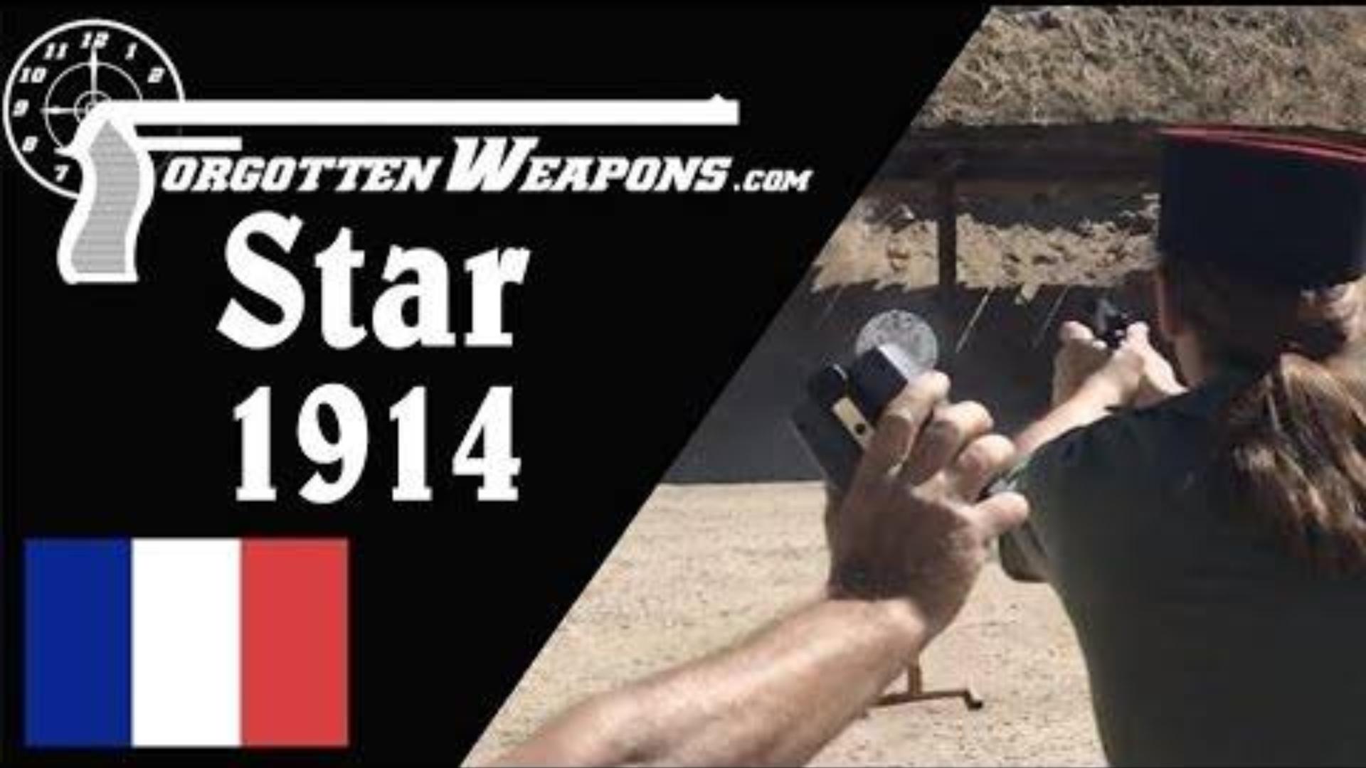 【被遗忘的武器/双语】后备用枪挑战赛--星牌M1914手枪